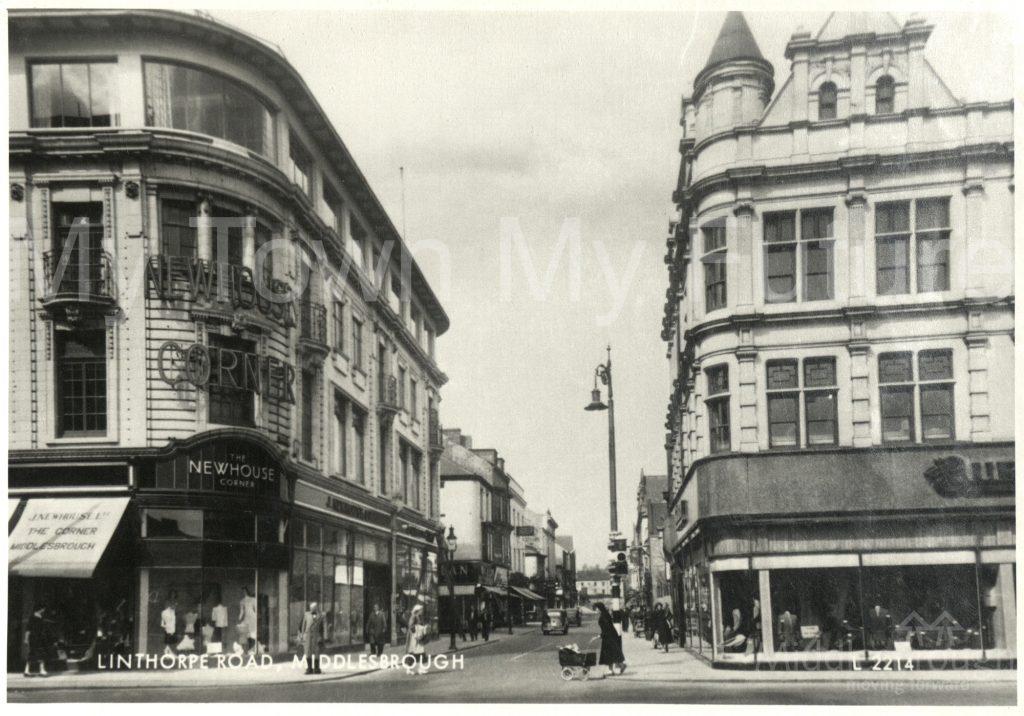 Newhouse Corner, Linthorpe Road (1940)