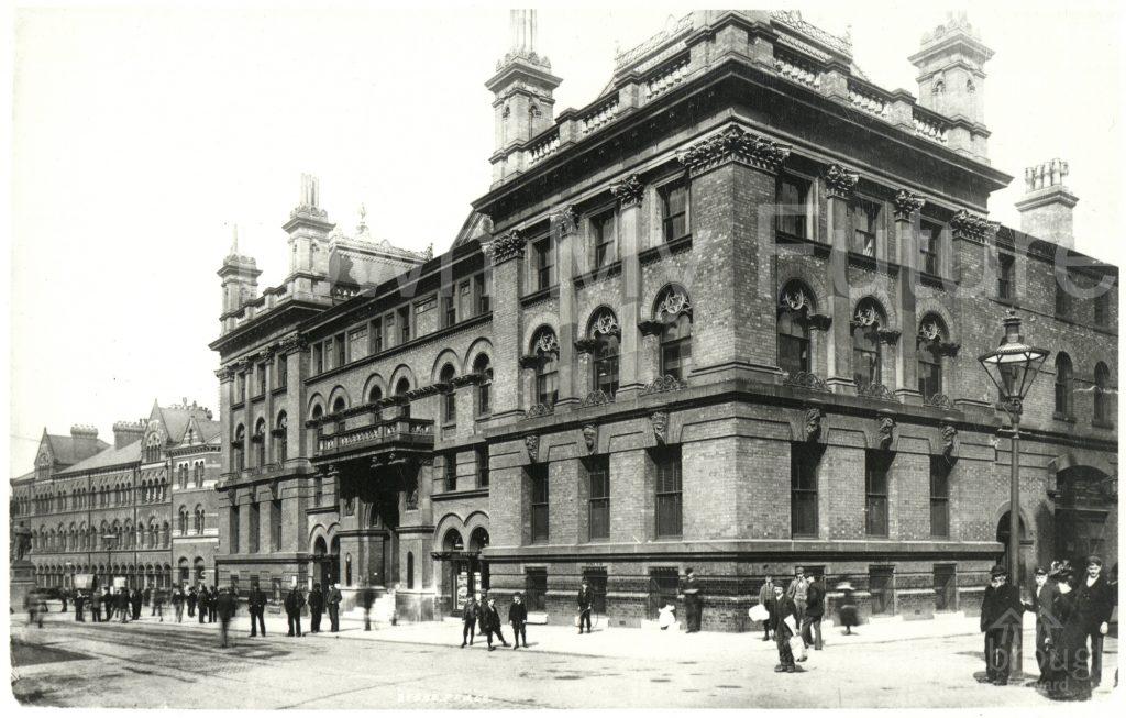 Royal Exchange building (1900)