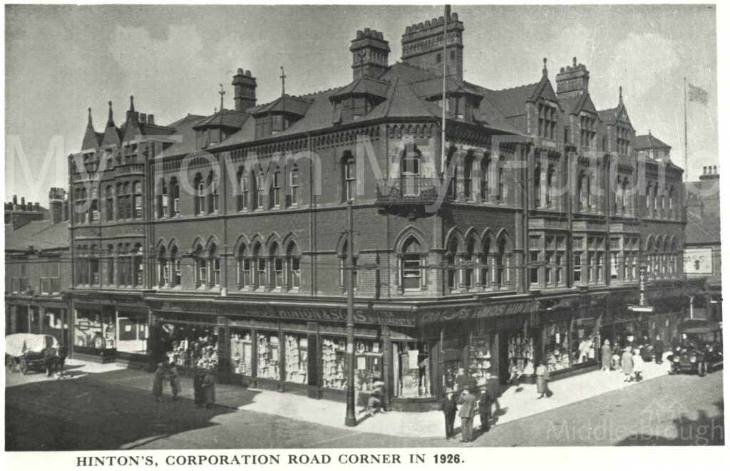 Hintons, Corporation Road (1926)