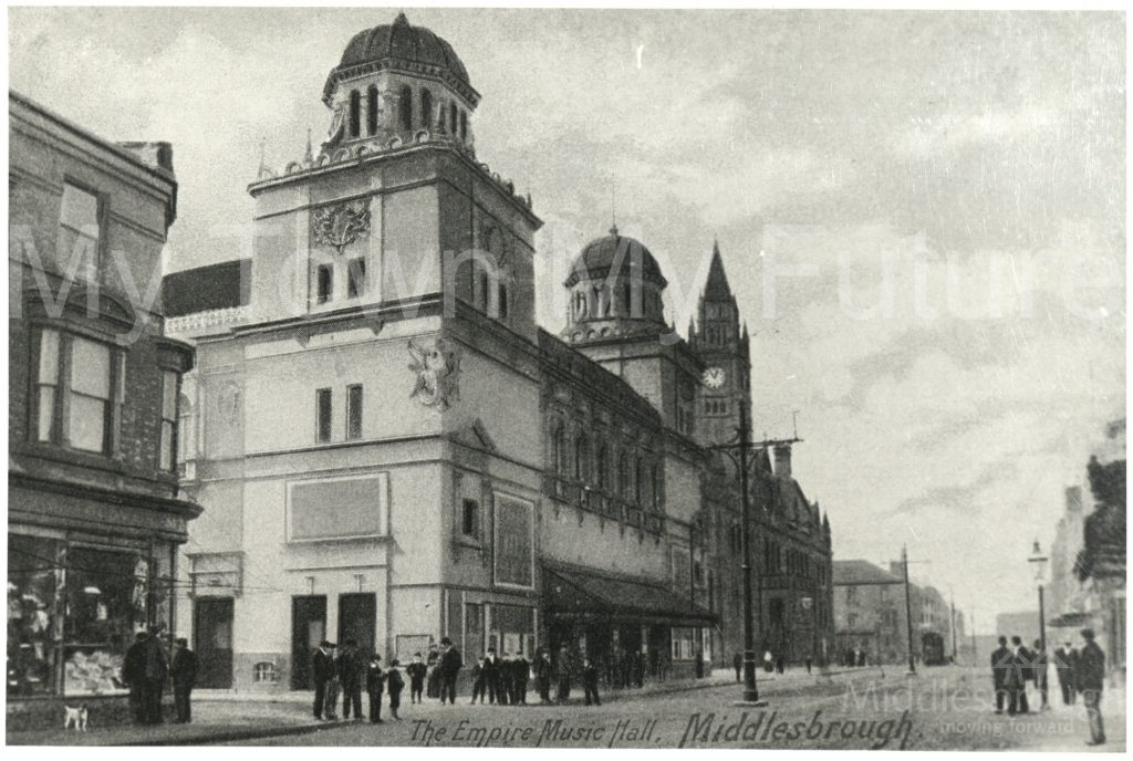 Empire Palace of Varieties, Corporation Road (1900)