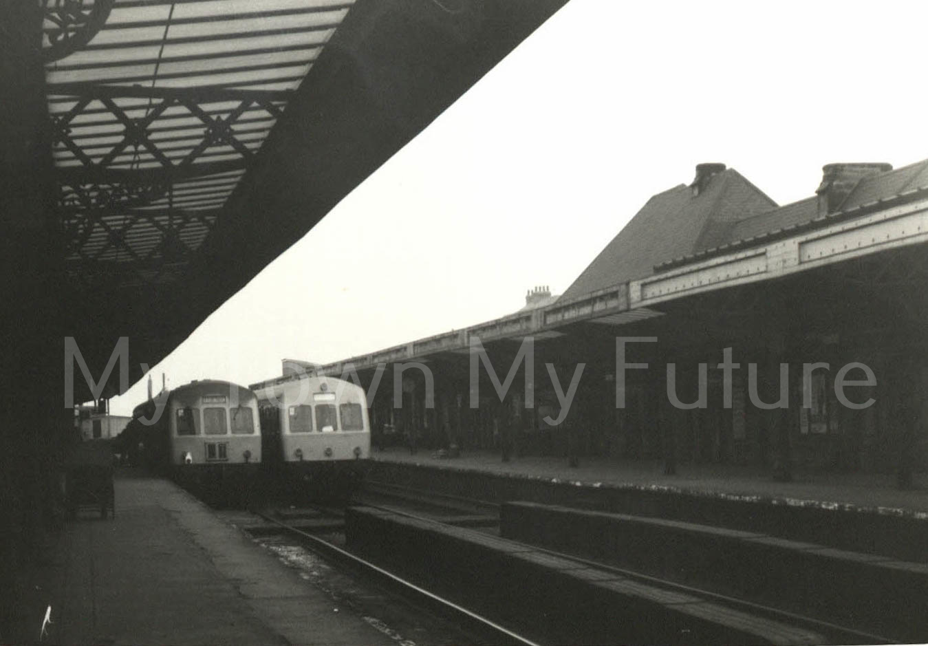 Middlesbrough Railway Station (1970)