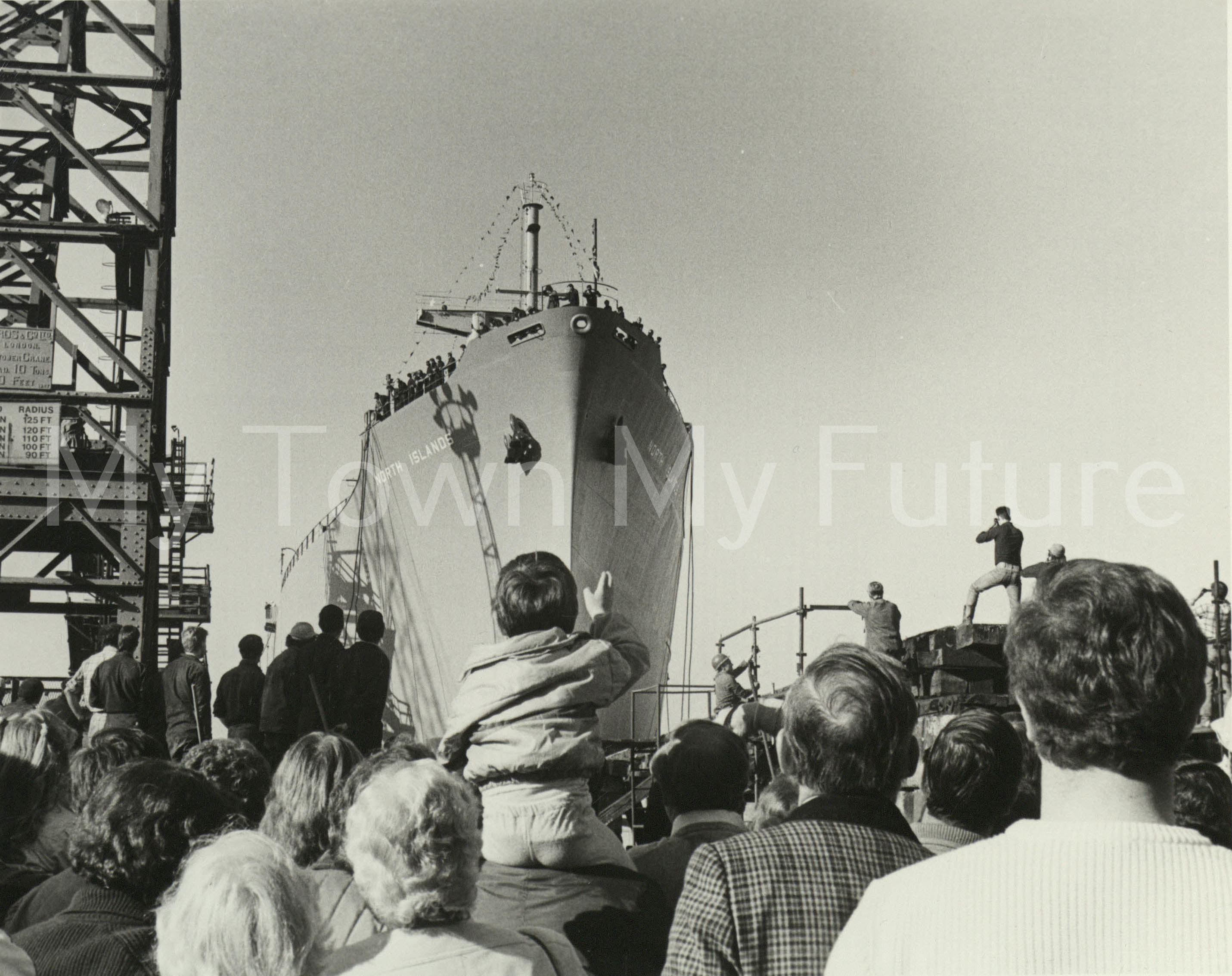 Smith's Dock Ships - North Islands - Last Ship Launched 1986