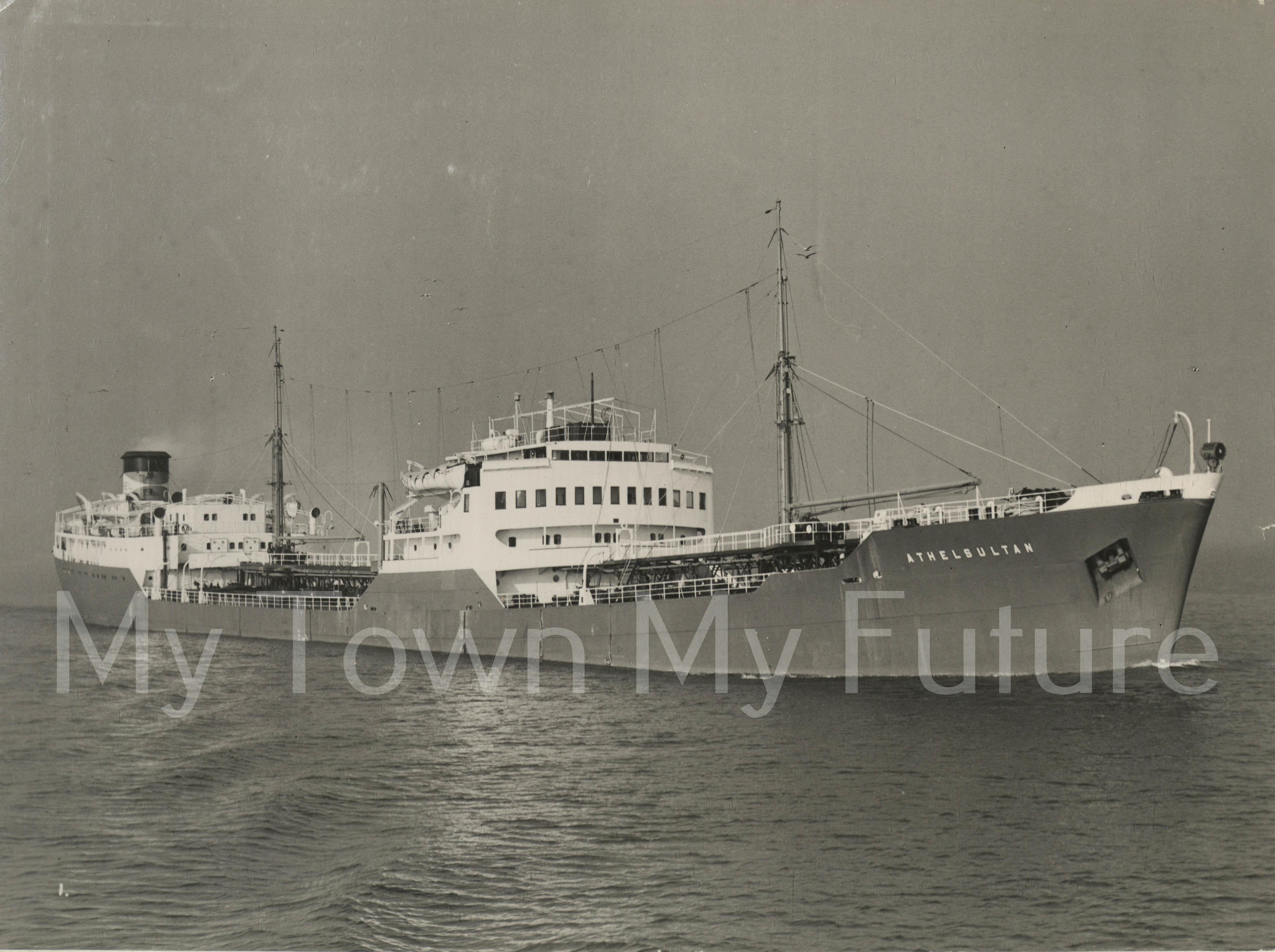 Smith's Dock Ships - Athelsultan 1951