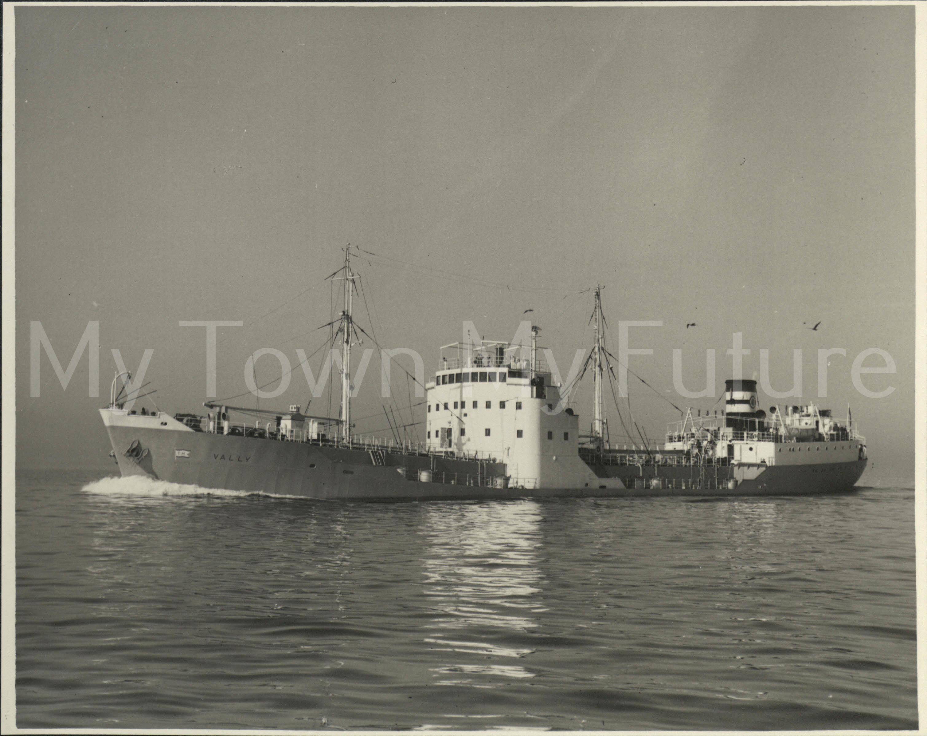 Smith's Dock Ships - Vally 1953