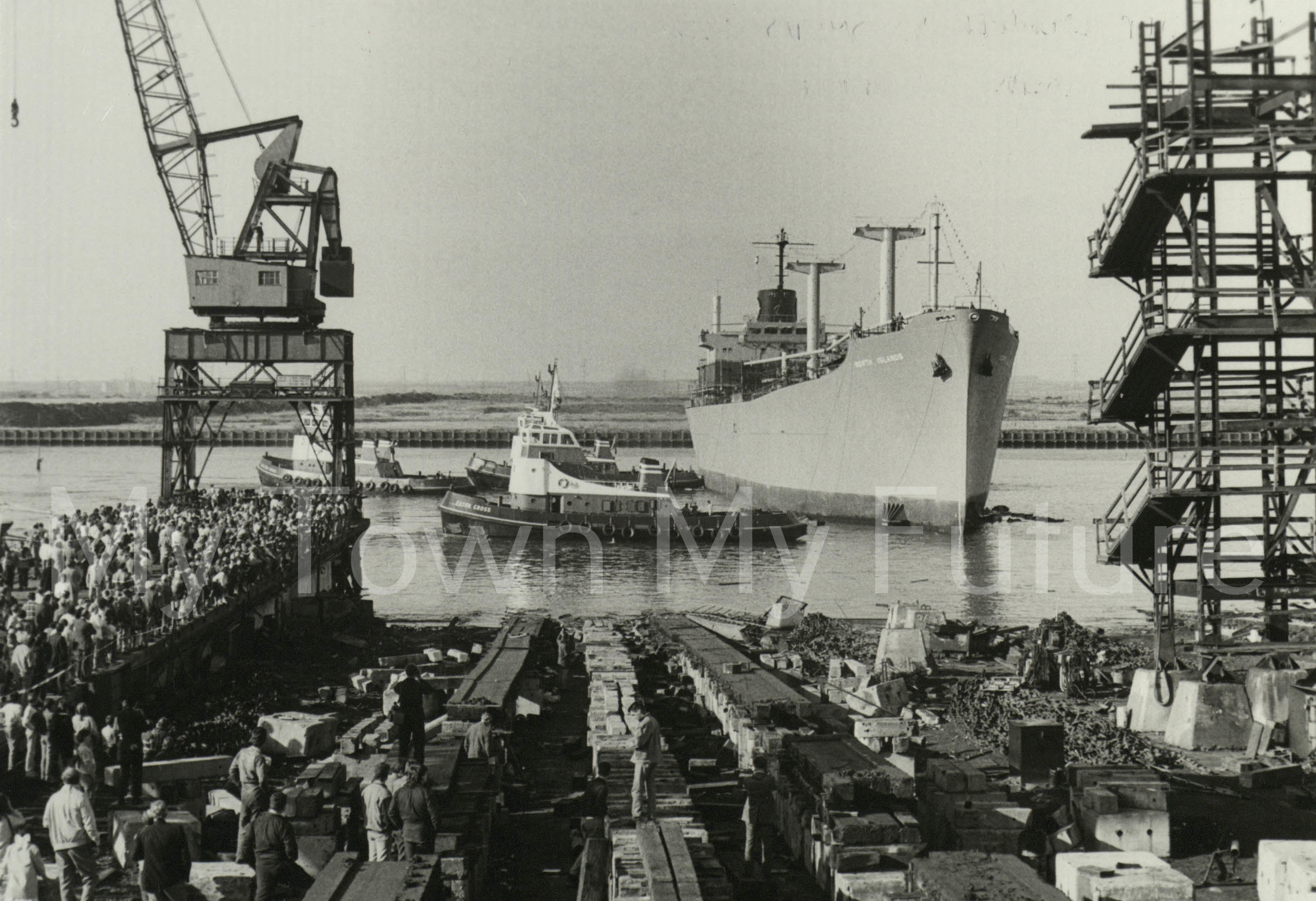 Smiths Dock Ships North Islands 1986