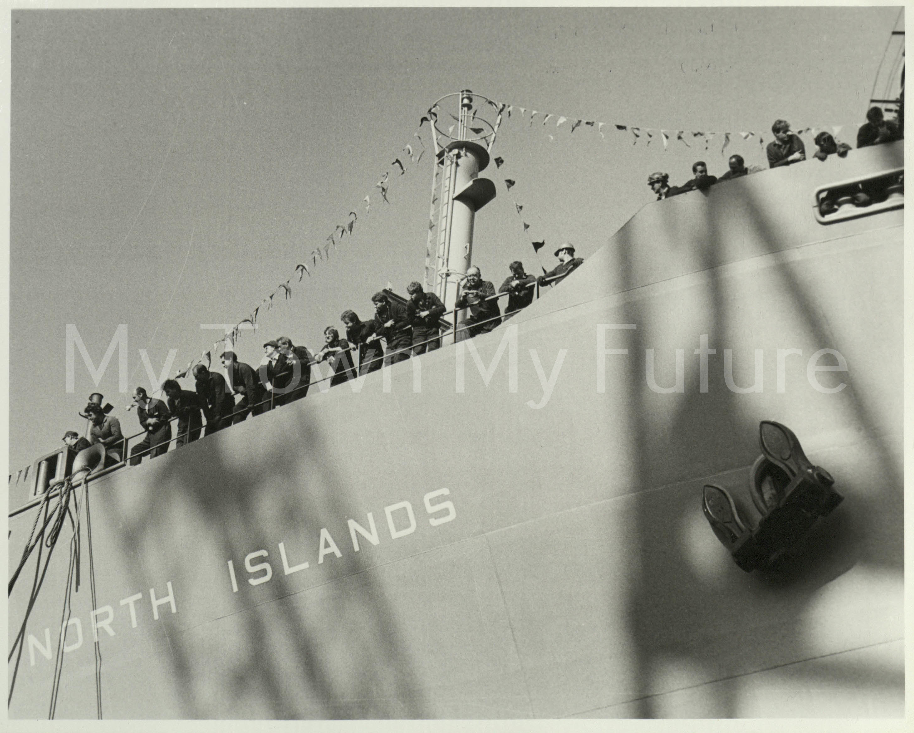 Smith's Dock Ships -North Islands - Last Ship Launched 1986