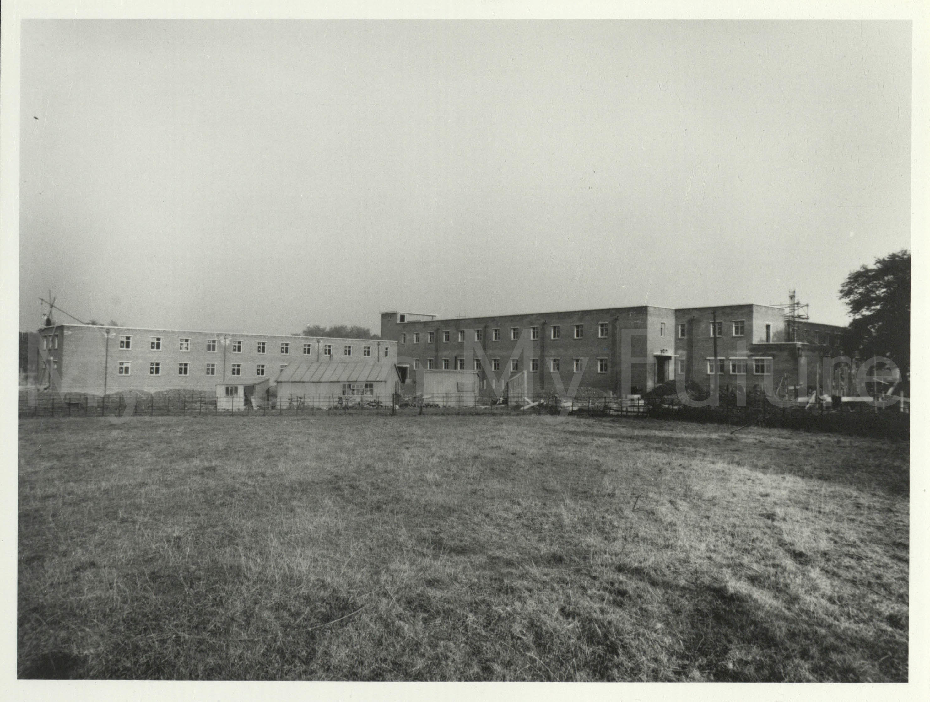 Nurses' Home, Poole Hospital Sanatorium (under construction) (Oct 1939)