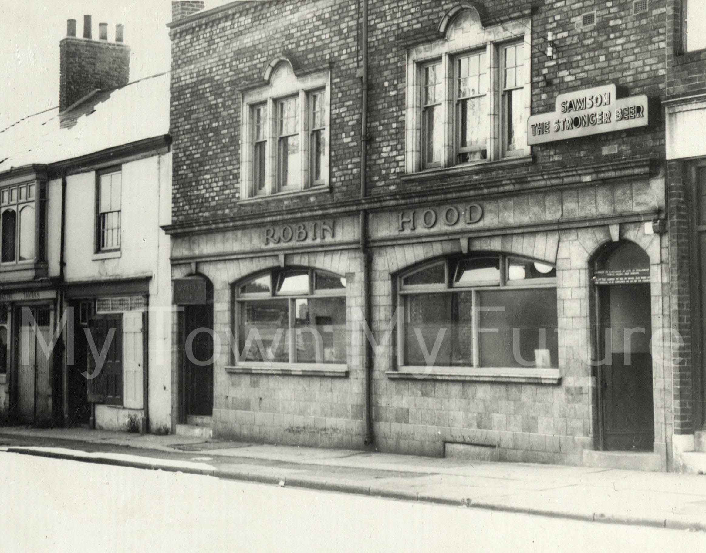 Robin Hood Hotel Commercial St_1963_Evening Gazette_