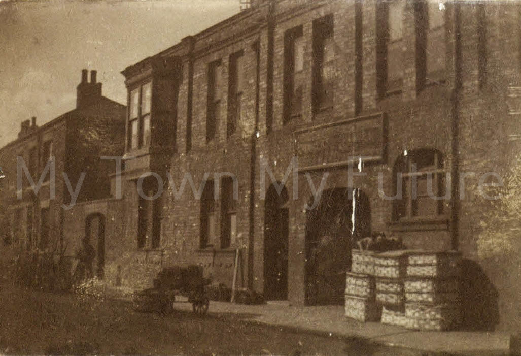Bolckow Street showing Brush Factory__T Chambers_
