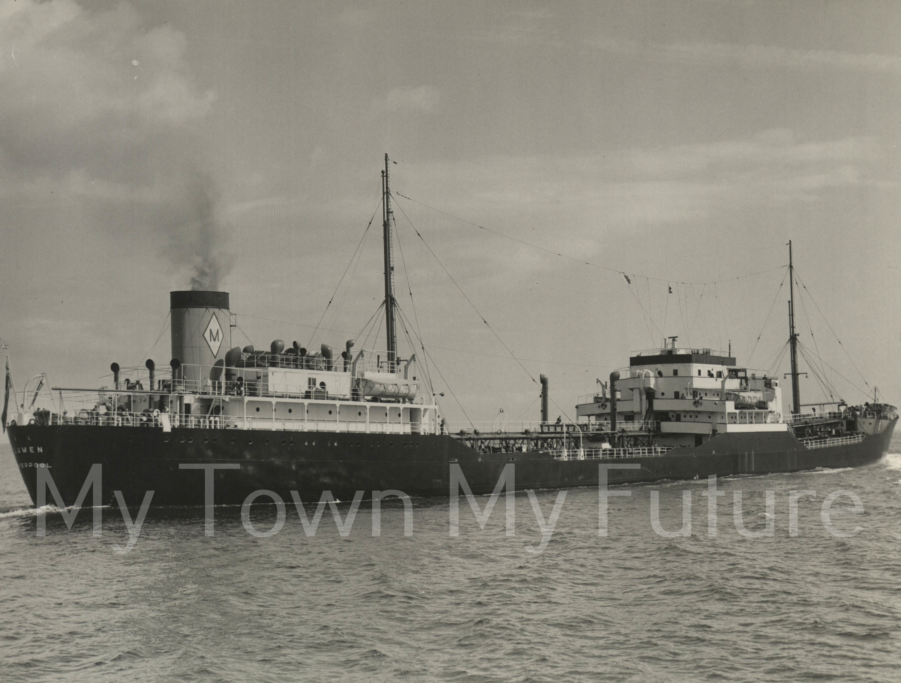 Smith's Dock Ships - Lumen for H E Mass & Co's Tankers_1950__