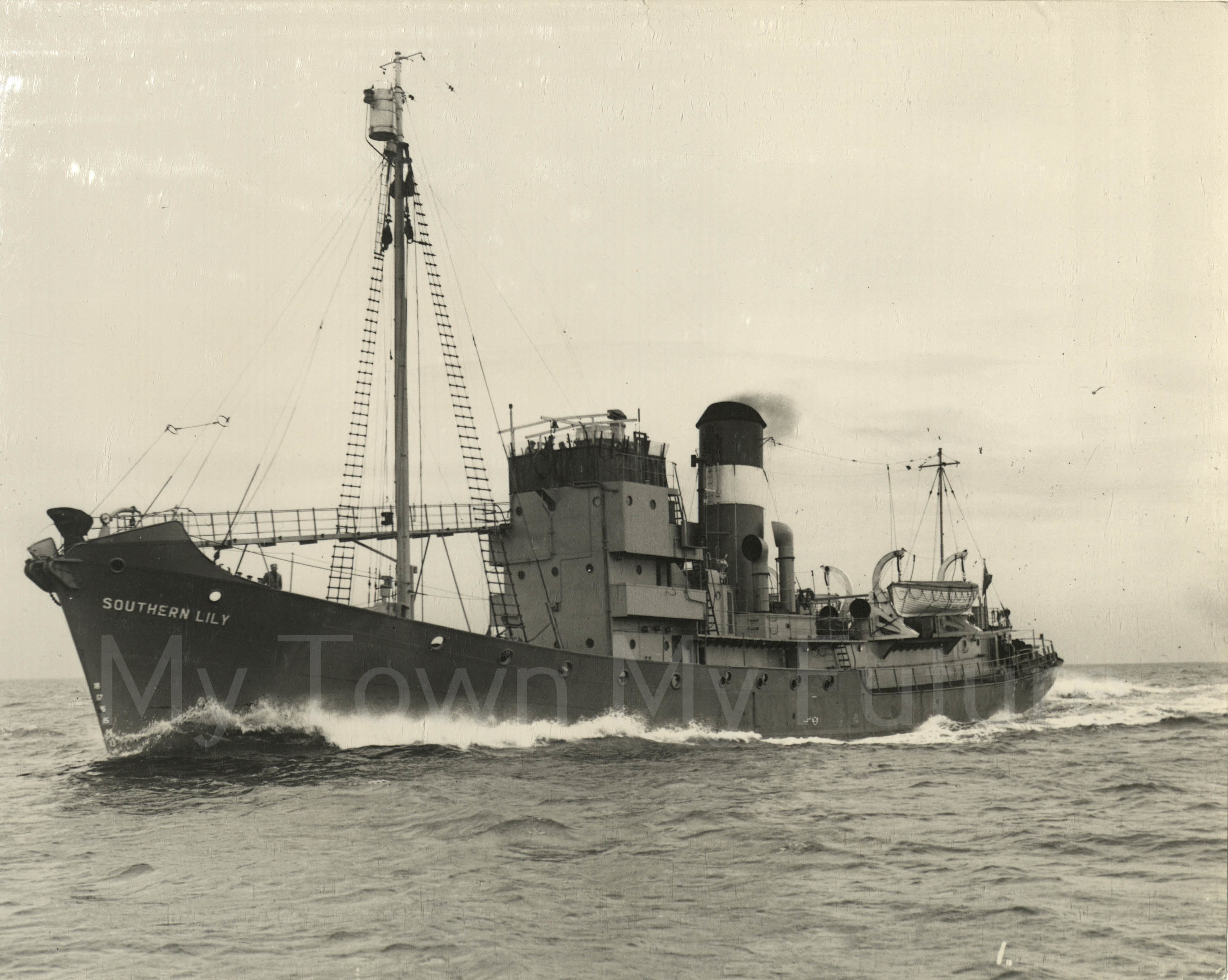 Smith's Dock Ships - Southern Lily - Conversion to Whaler_1948