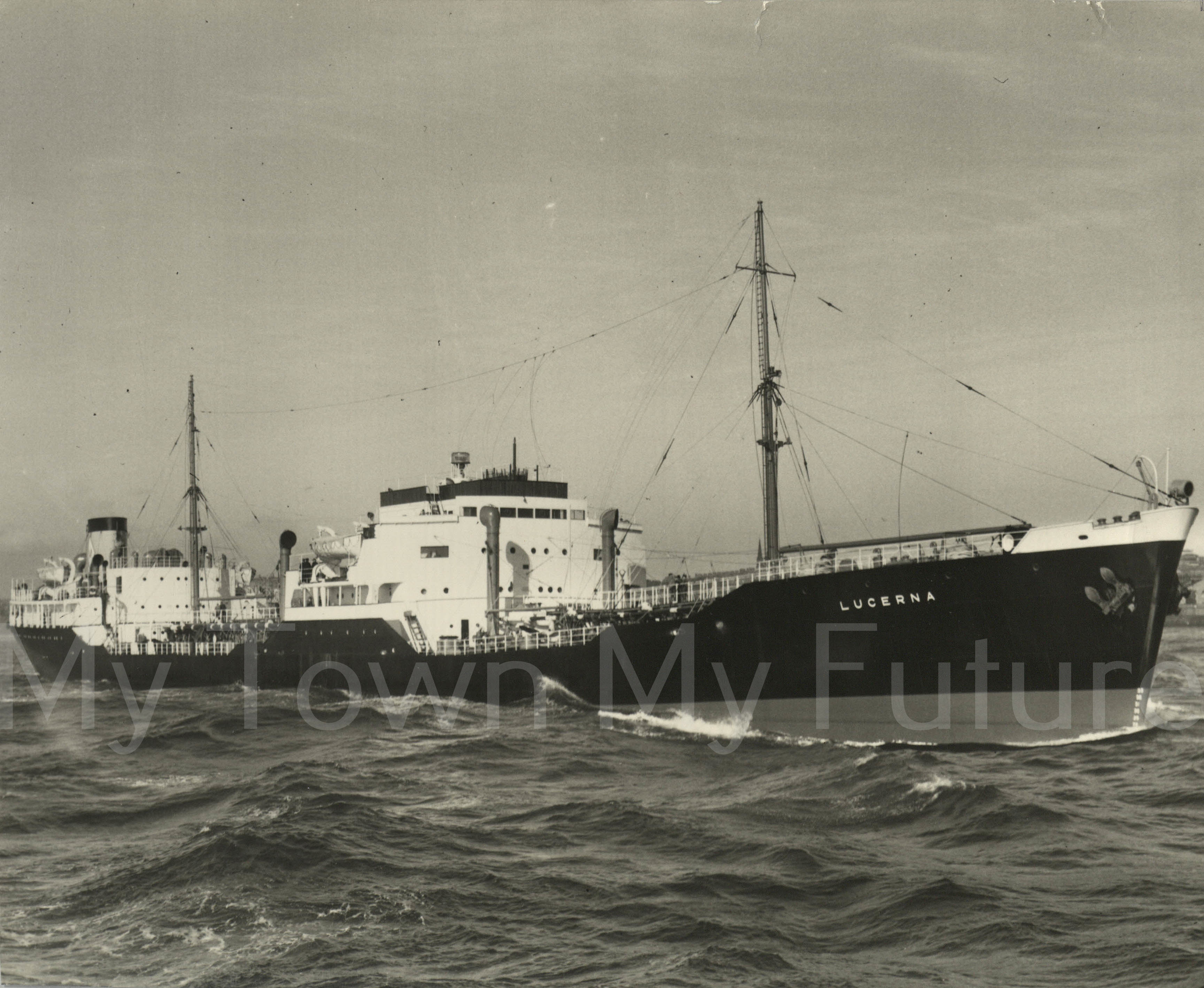 Smith's Dock Ships - Lucerna - Built for HE Moss of Liverpool_1952__