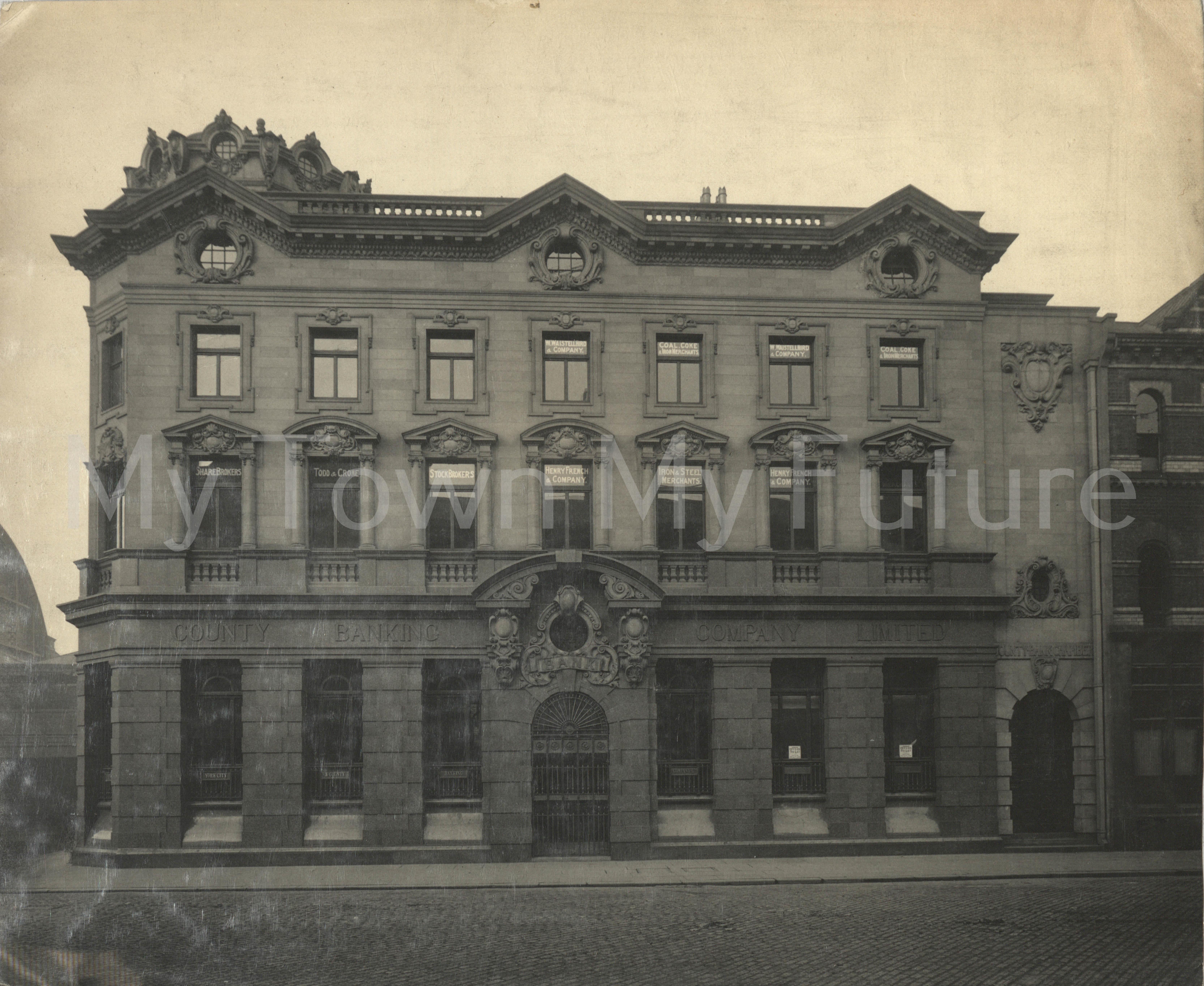 York City & County Bank, Marton Road (c1900)