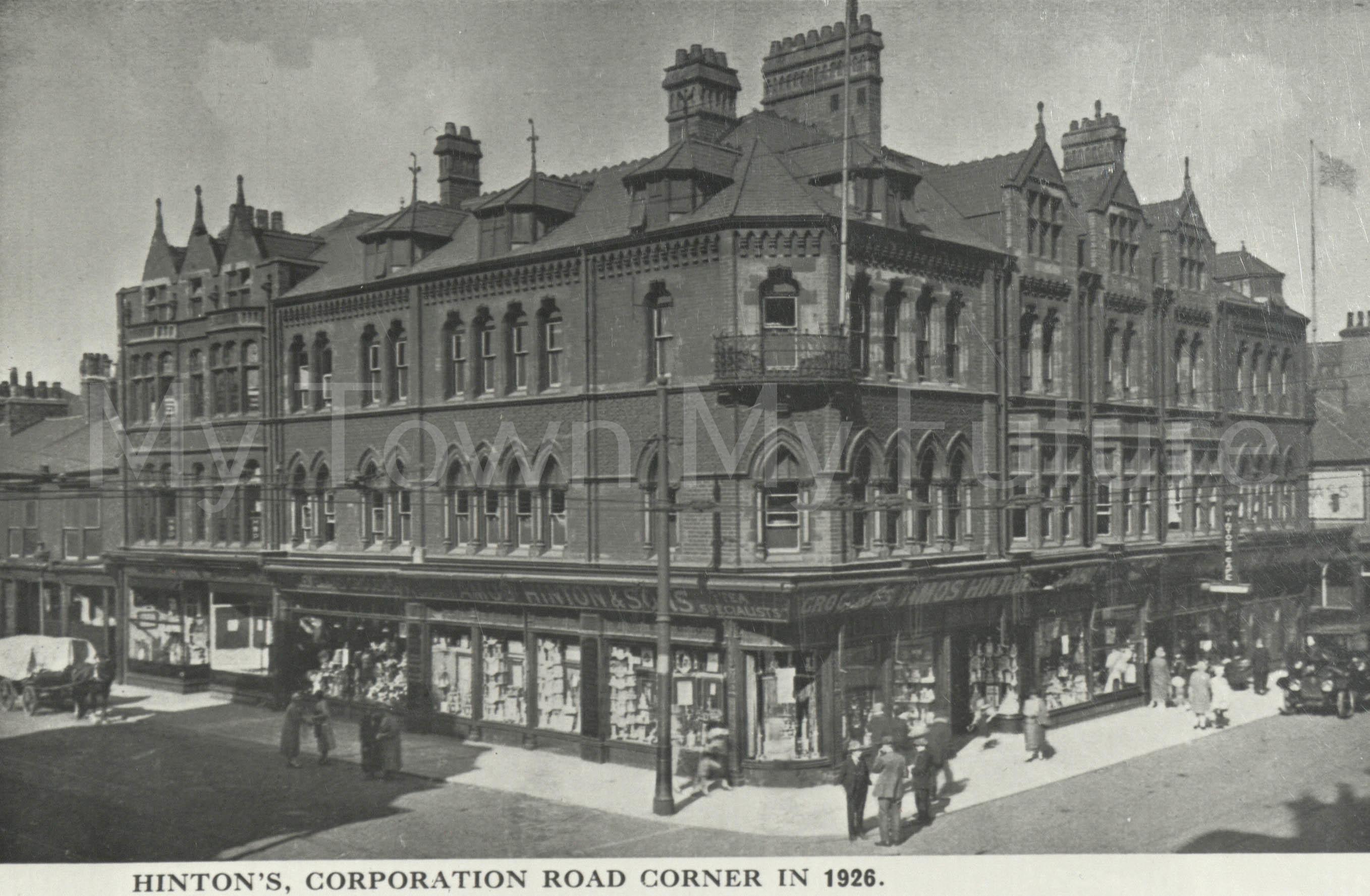 Hinton's, Corporation Road 1926