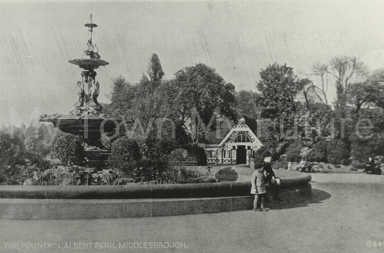 Albert Park Fountain, 1900, Cleveland County Council