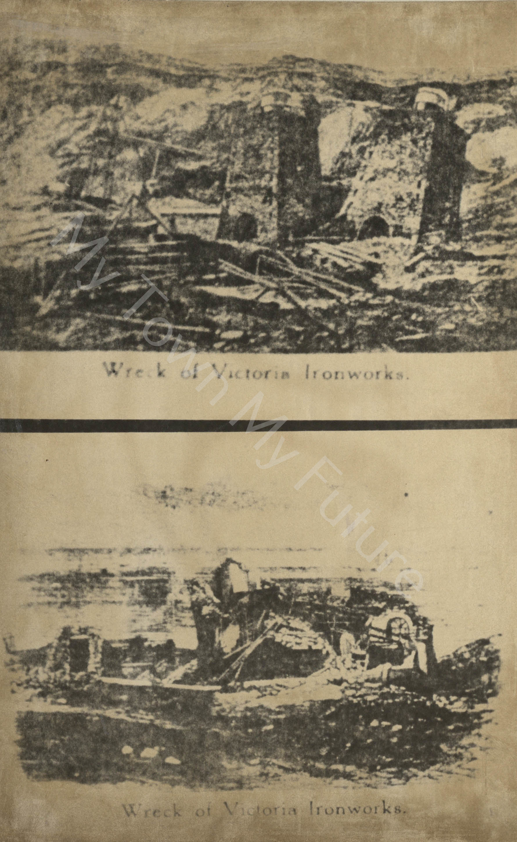 Wreck of Victoria Ironworks