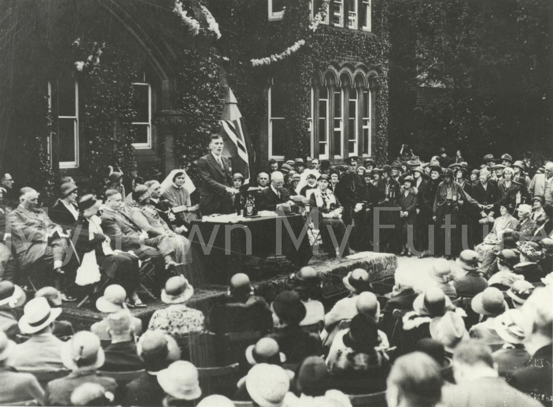 Opening Ceremony Poole Hospital Sanatorium - 22 June 1932