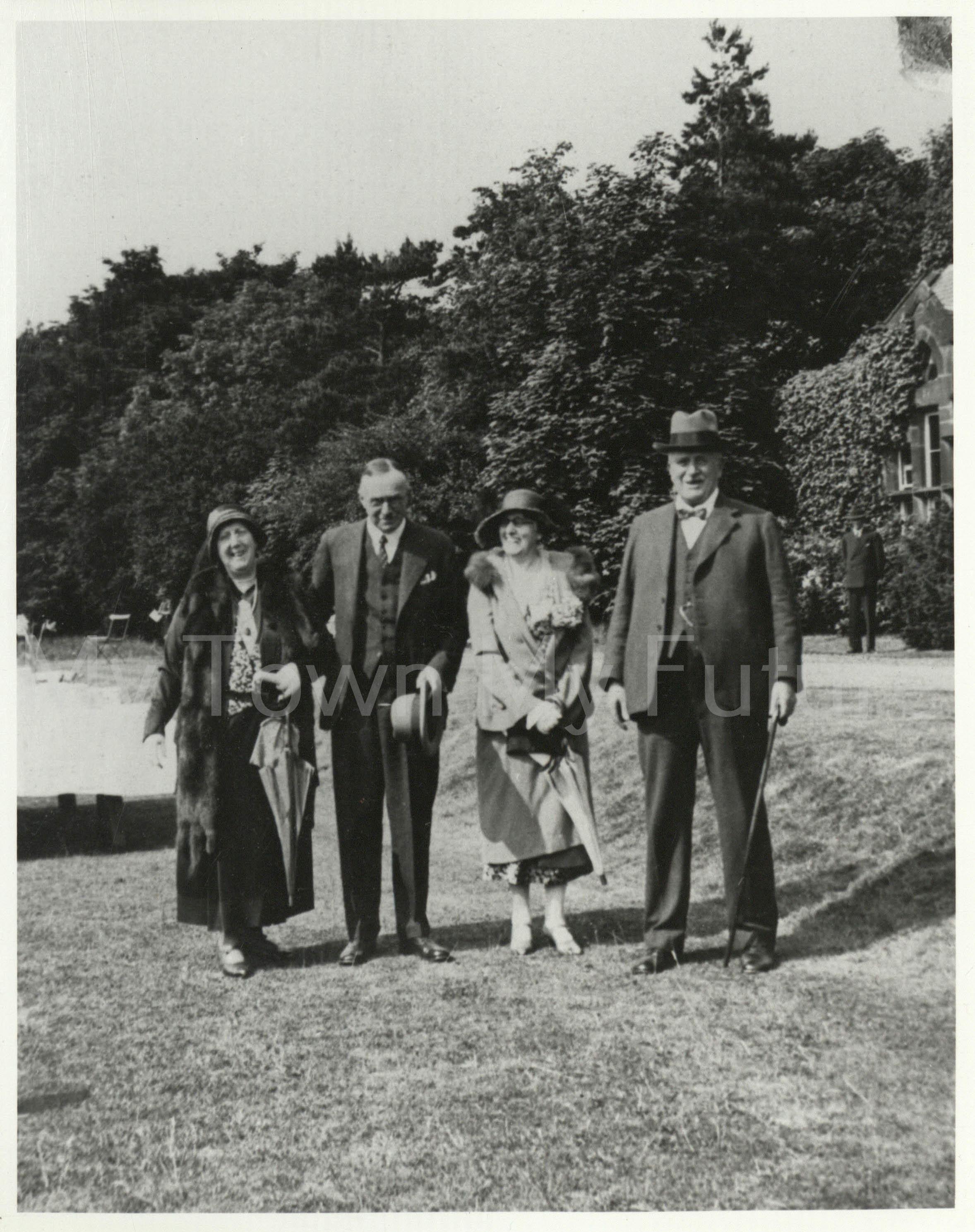 Poole Sanatorium Opening Ceremony 22 June 1932