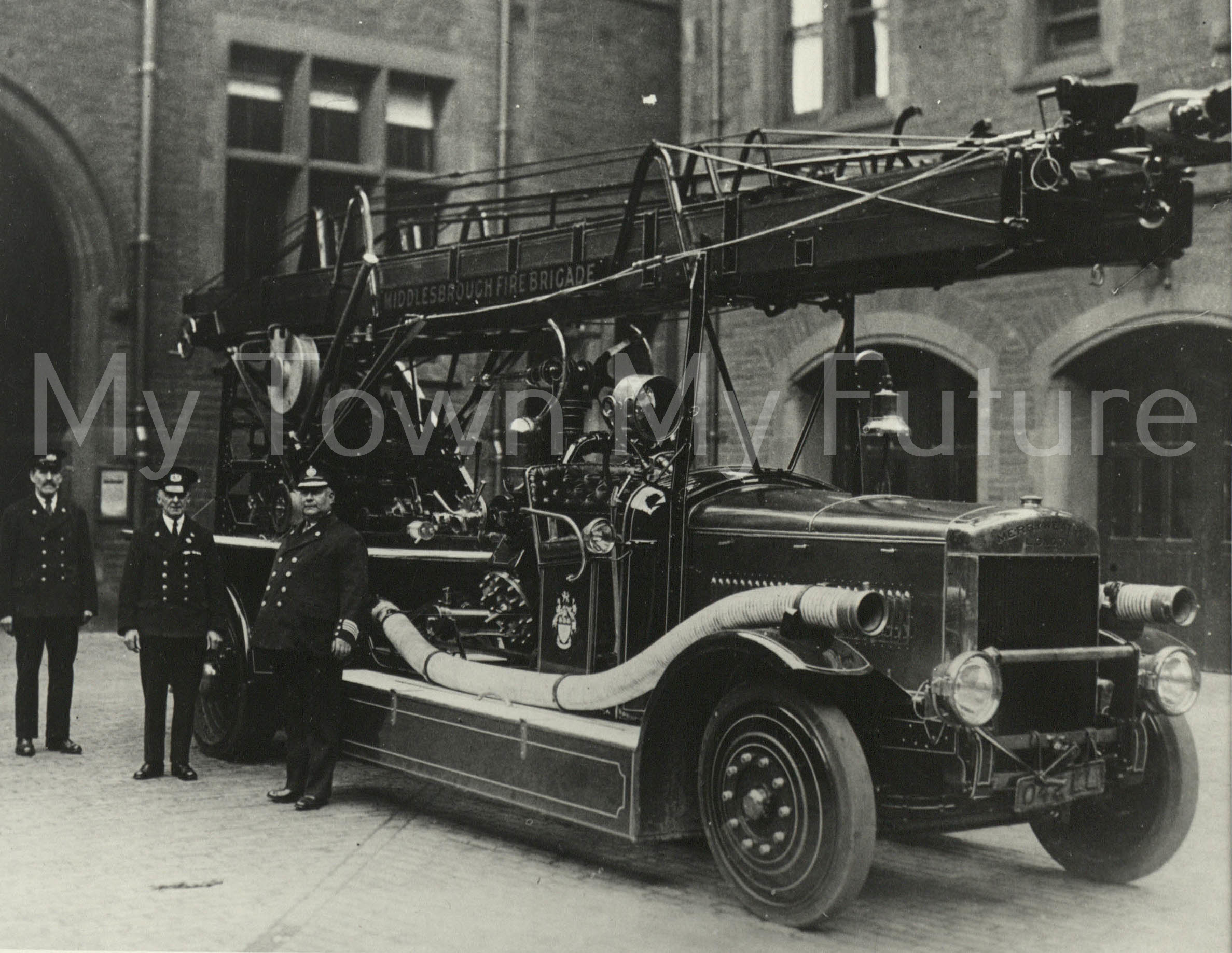 Middlesbrough Fire Brigade, 1930, Department of Planning - Cleveland County Council