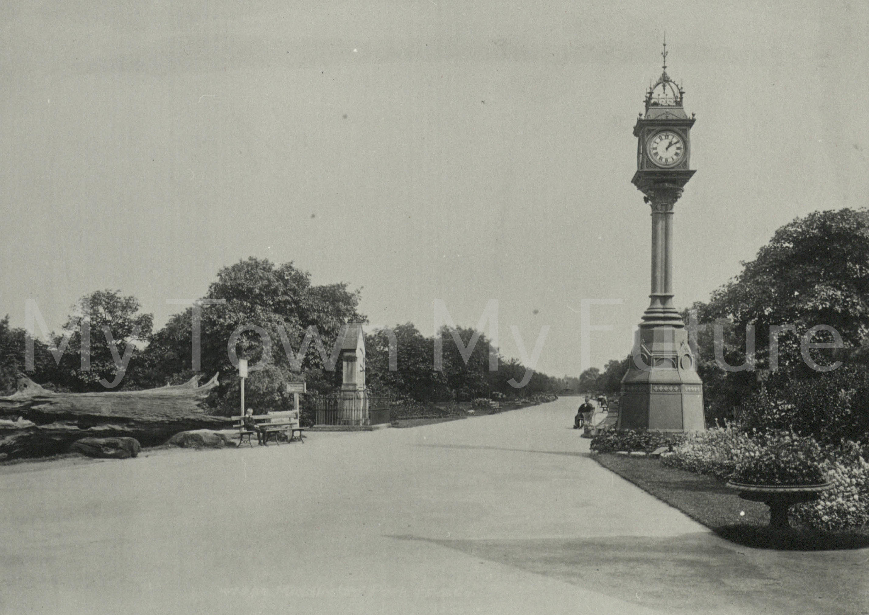Albert Park - Entrance - Francis Frith Collection