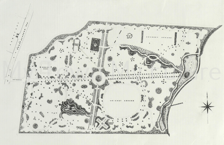 Albert Park - Plan of the Park