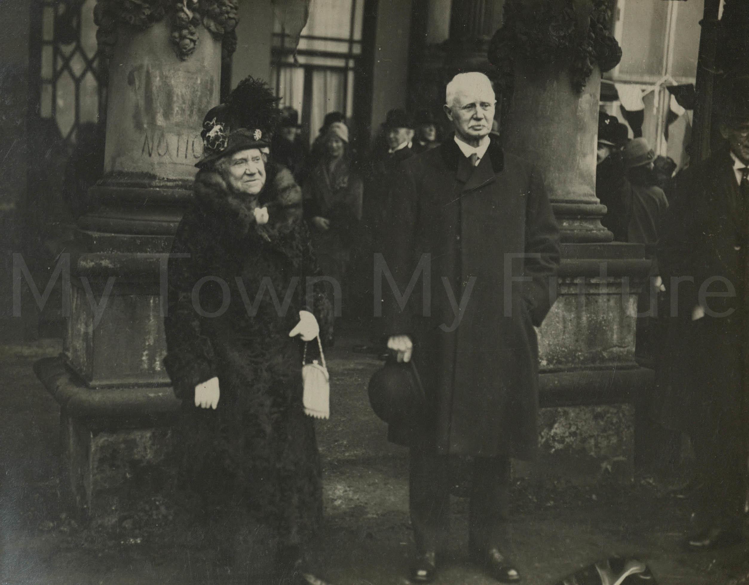 Stewart Park - Opening by Coun & Mrs T.D. Stewart, 23rd May 1928 - Evening Gazette