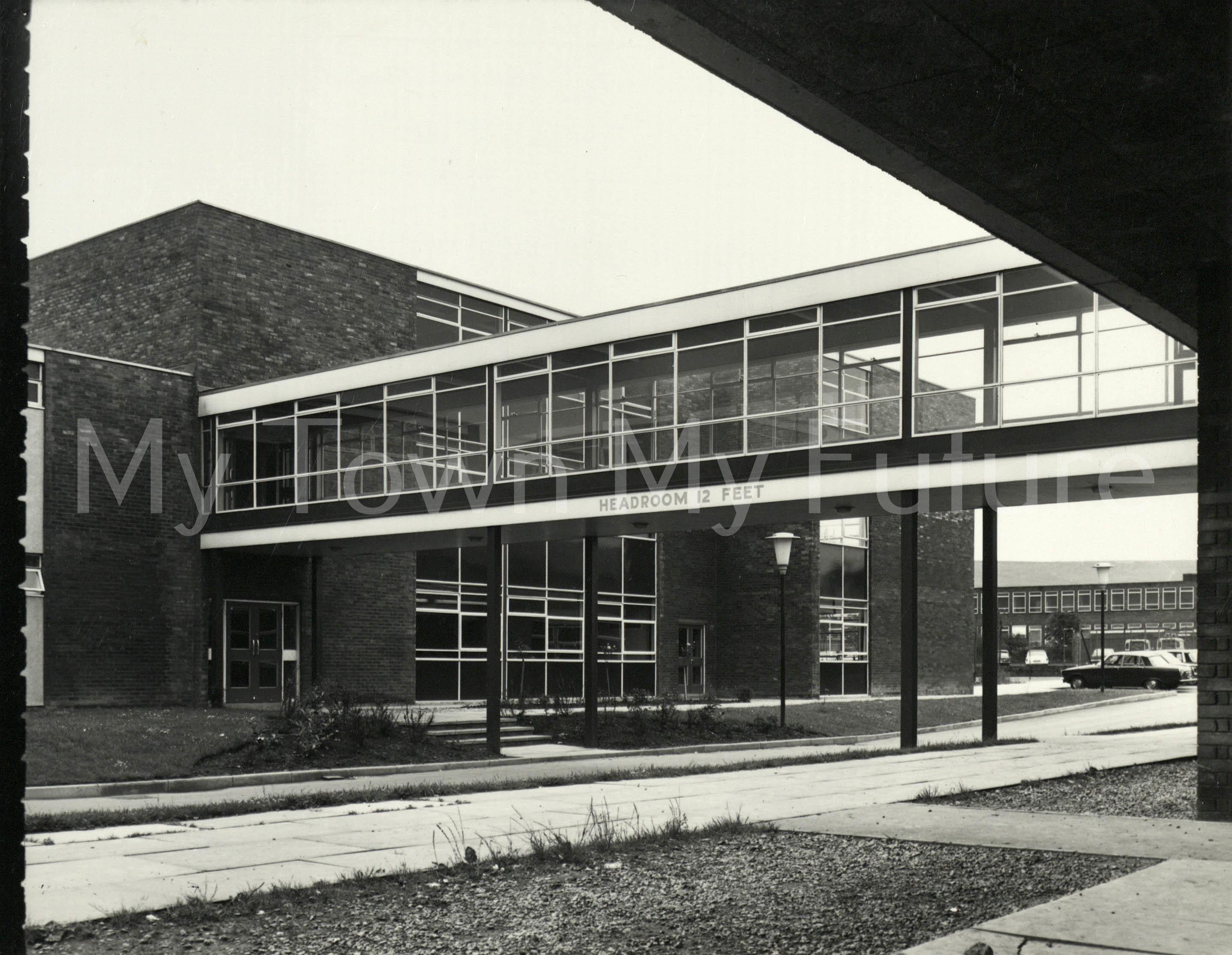 Sarah Metcalfe School South Bank 1973
