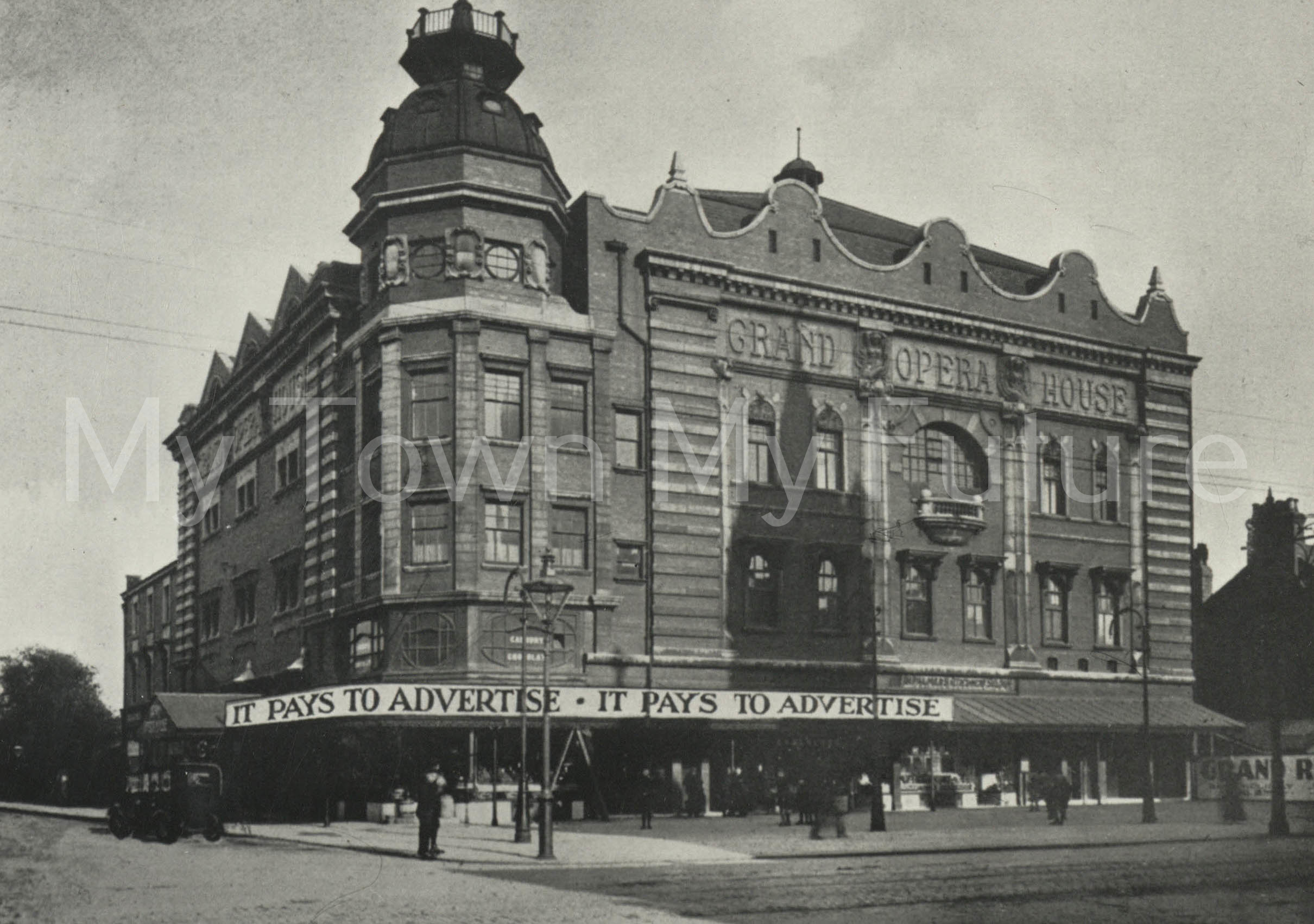 A photo of the Grand Opera House Linthorpe Road, Middlesbrough