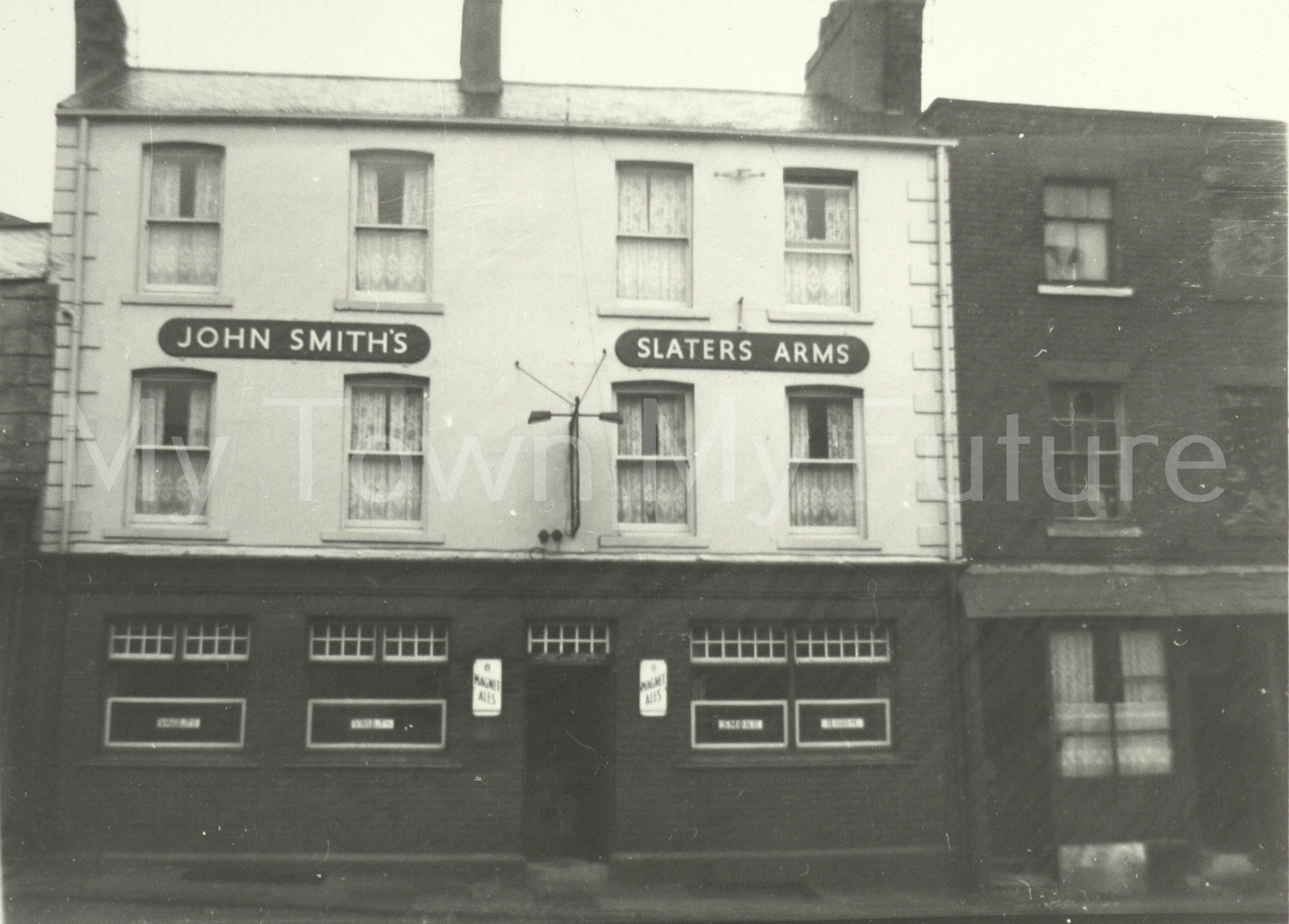 The Slaters Arms Hotel North Street St Hilda's 1960