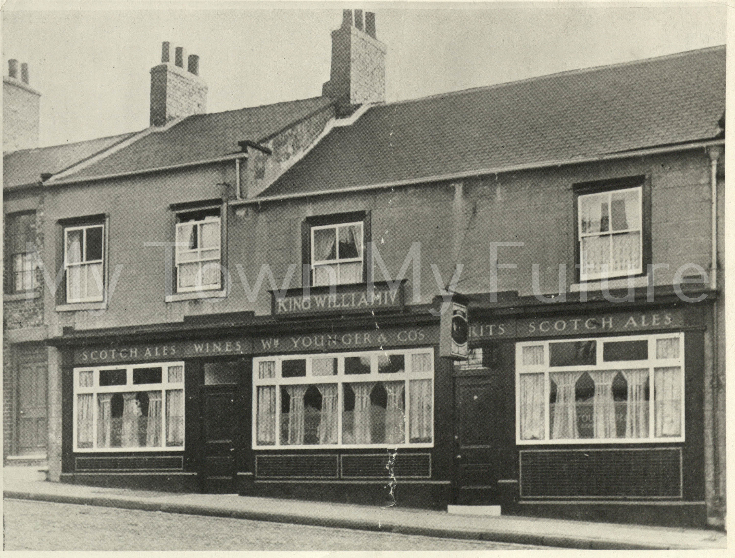 The King William IV Hotel West Street St Hilda's Next Door to Midddlesbrough 1st House No. 26 built in 1830
