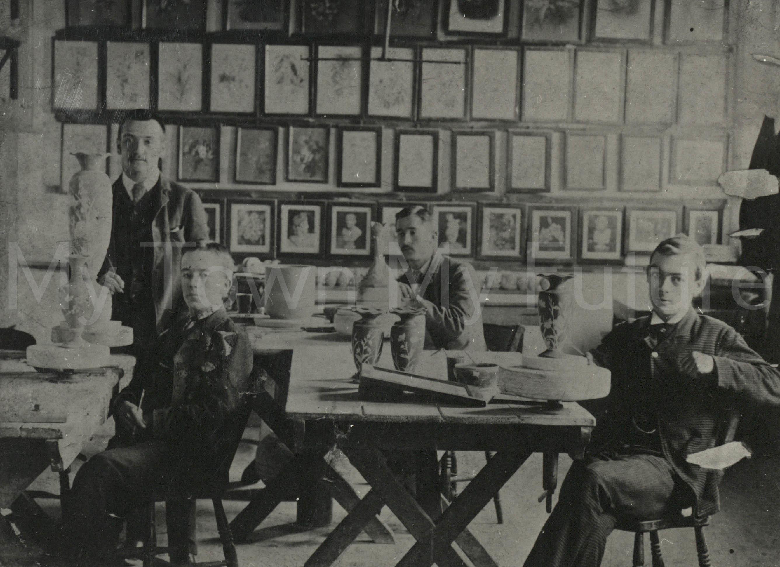Linthorpe Pottery, 1879-1890, Dorman Museum