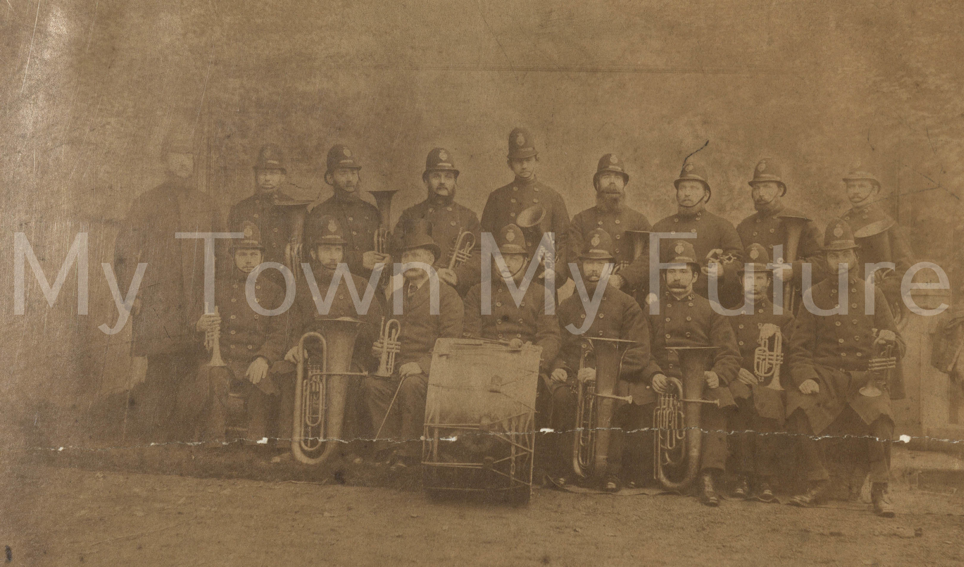 Middlesbrough Police Brass Band, Mrs M Daly