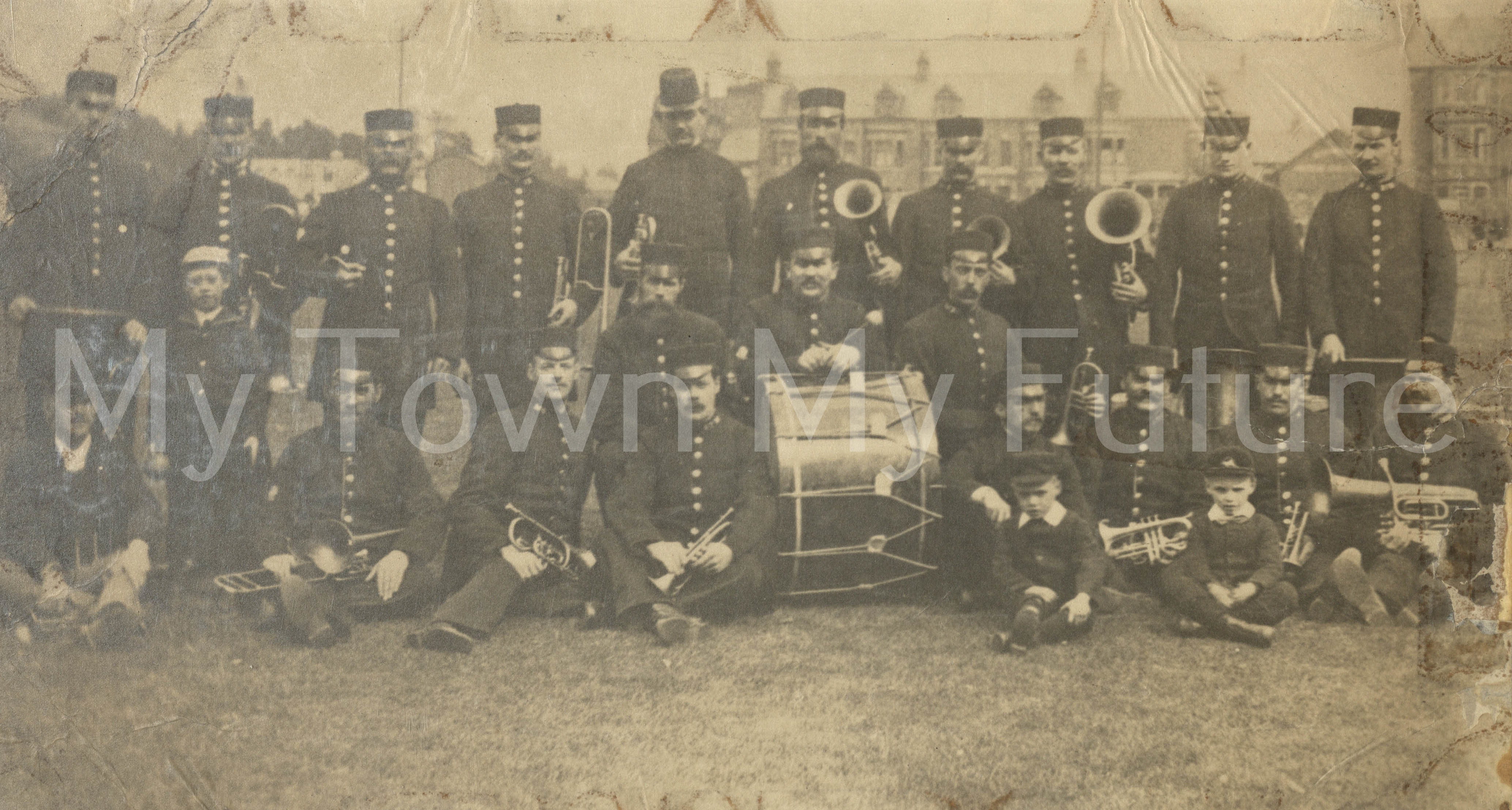 Brass Band, From The Family Of R Spark
