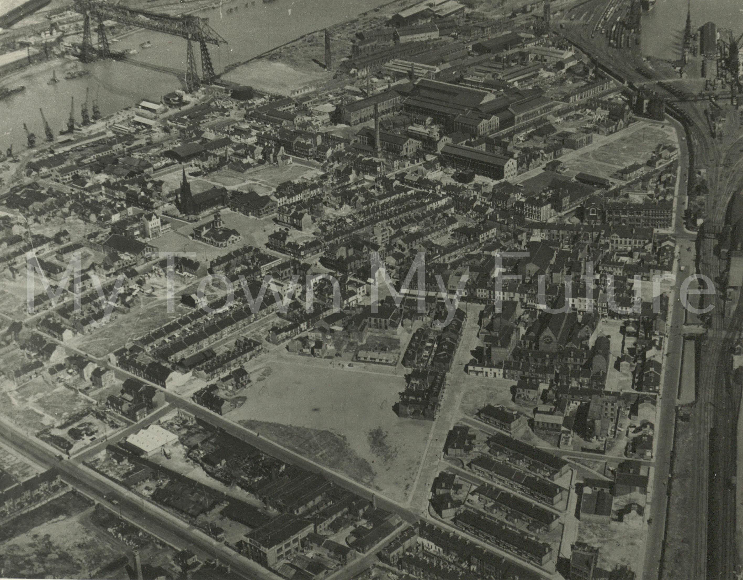 Middlesbrough St Hilda's & Transporter