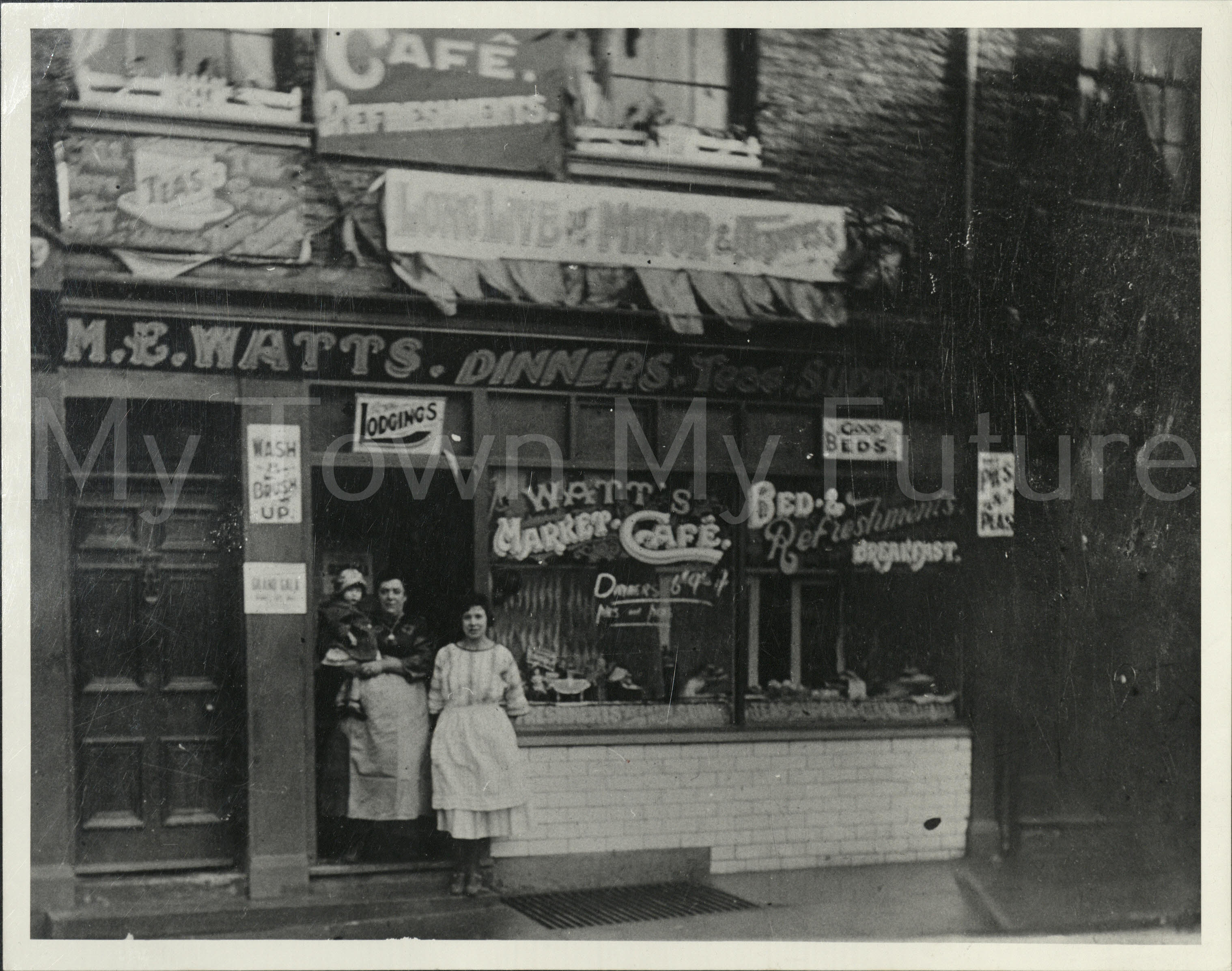 Margaret Watts, cafe and lodging house 6 Darce street 1920