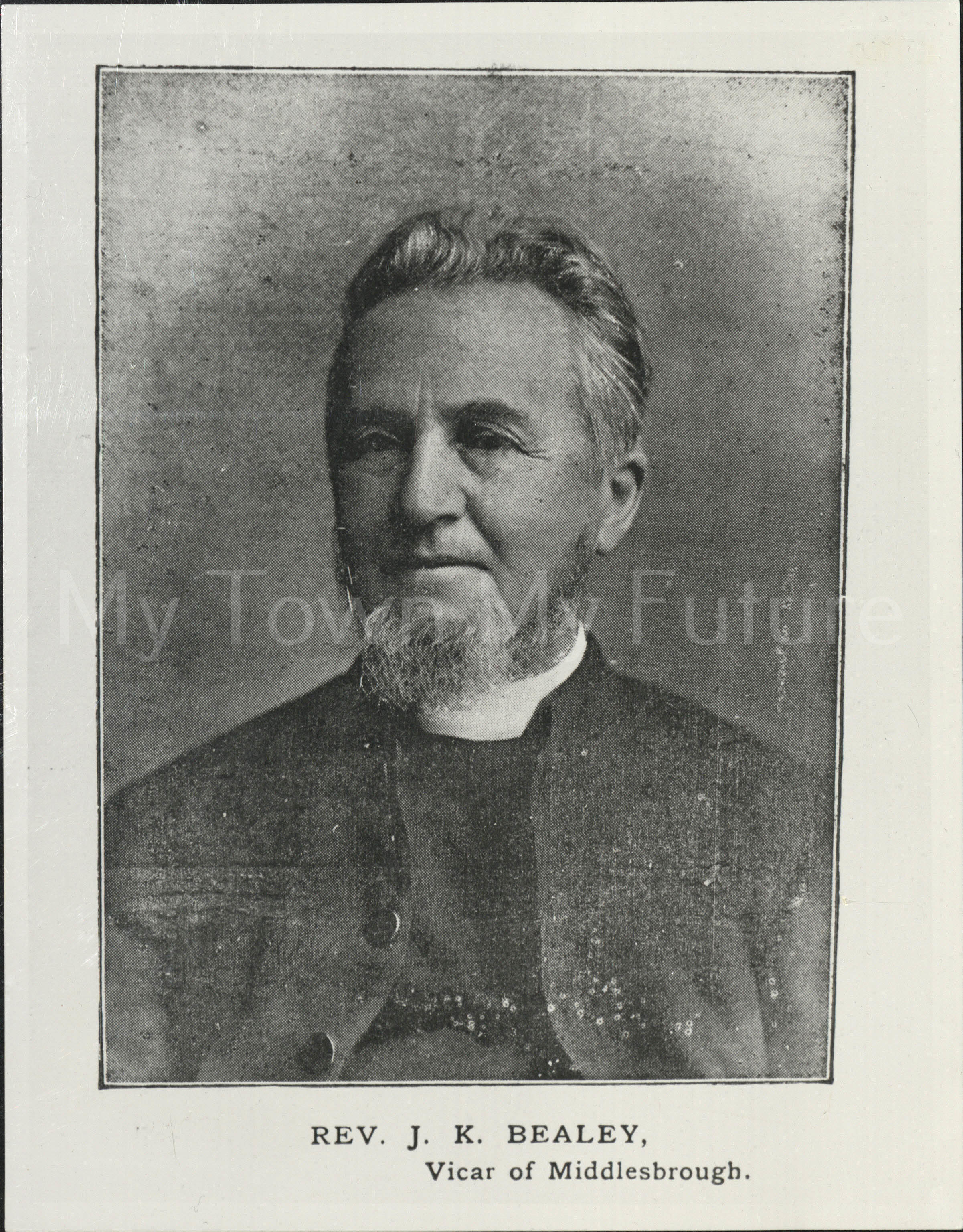 Rev JK Bealey, Vicar of Middlesbrough