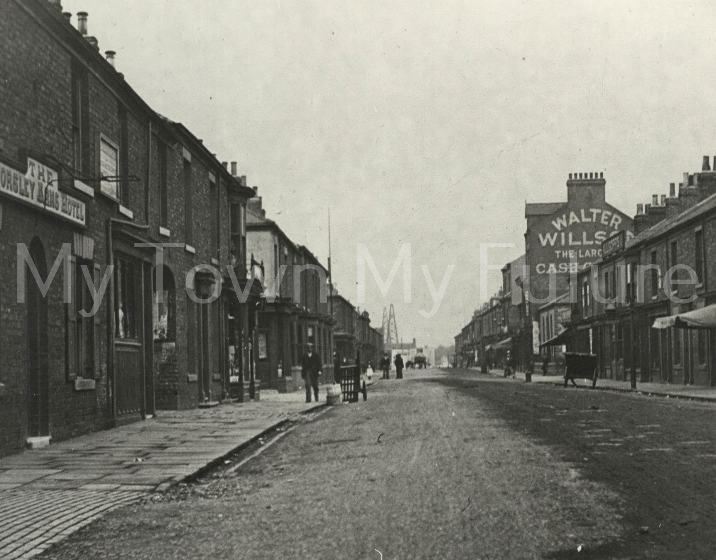 Smeaton Street. Worsley Arms & Salt Works