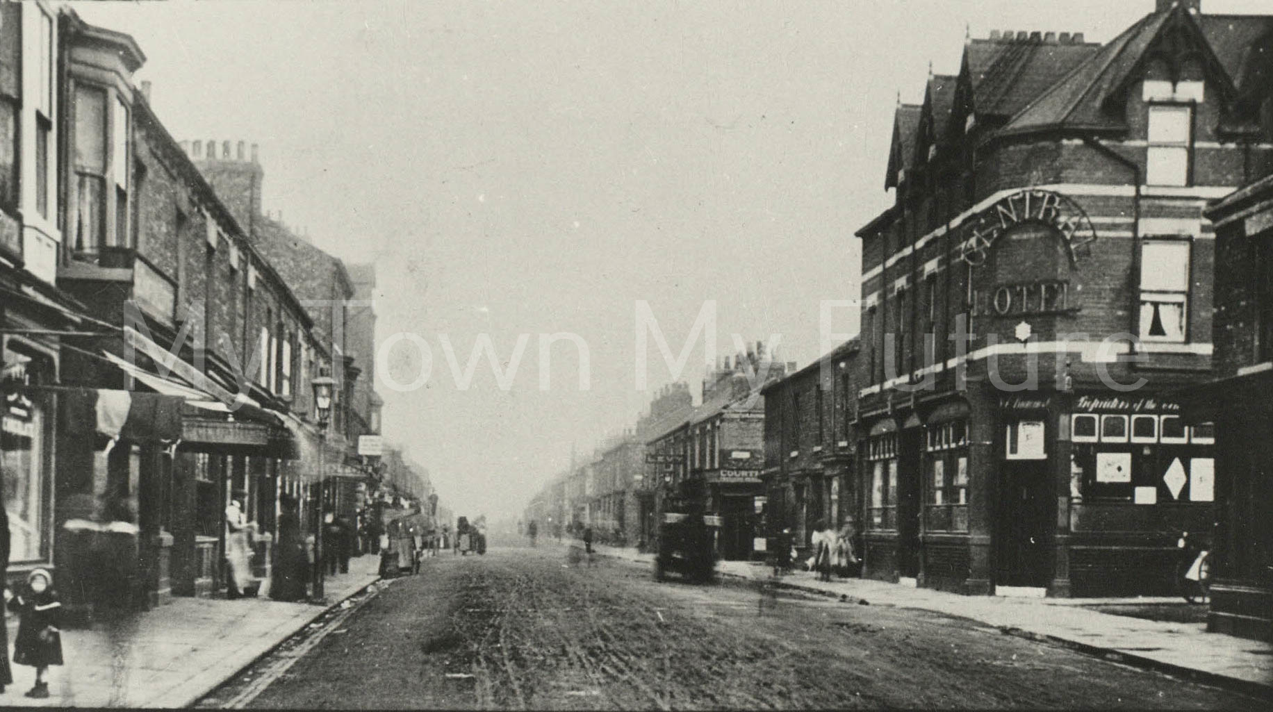 Postcard of Smeaton Street, North Ormesby