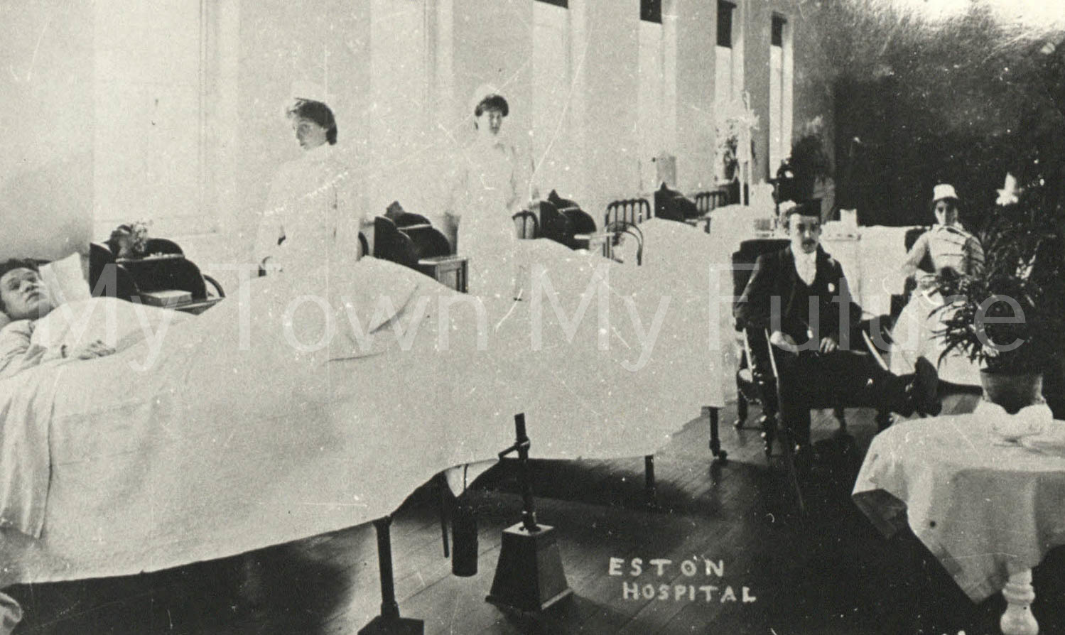 Eston Hospital ward 1900