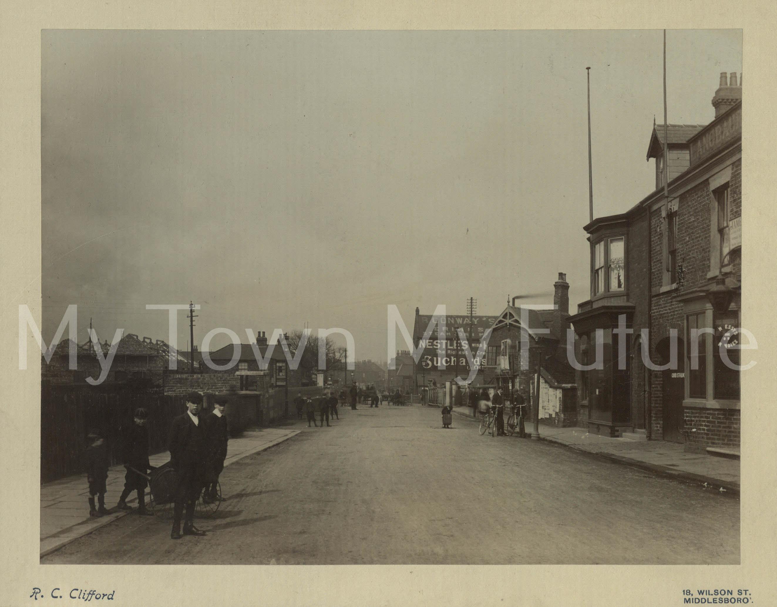 North Ormesby Railway Crossing (1903)