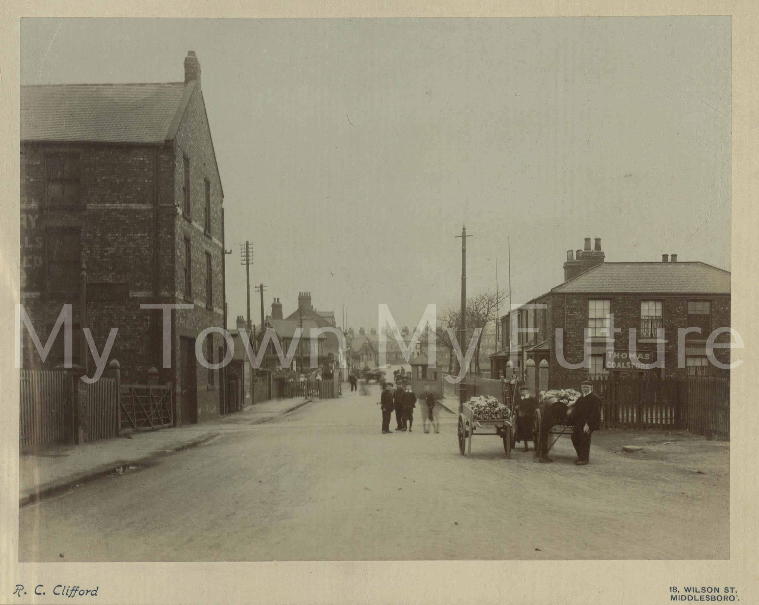 North Ormesby railway crossing (1903).