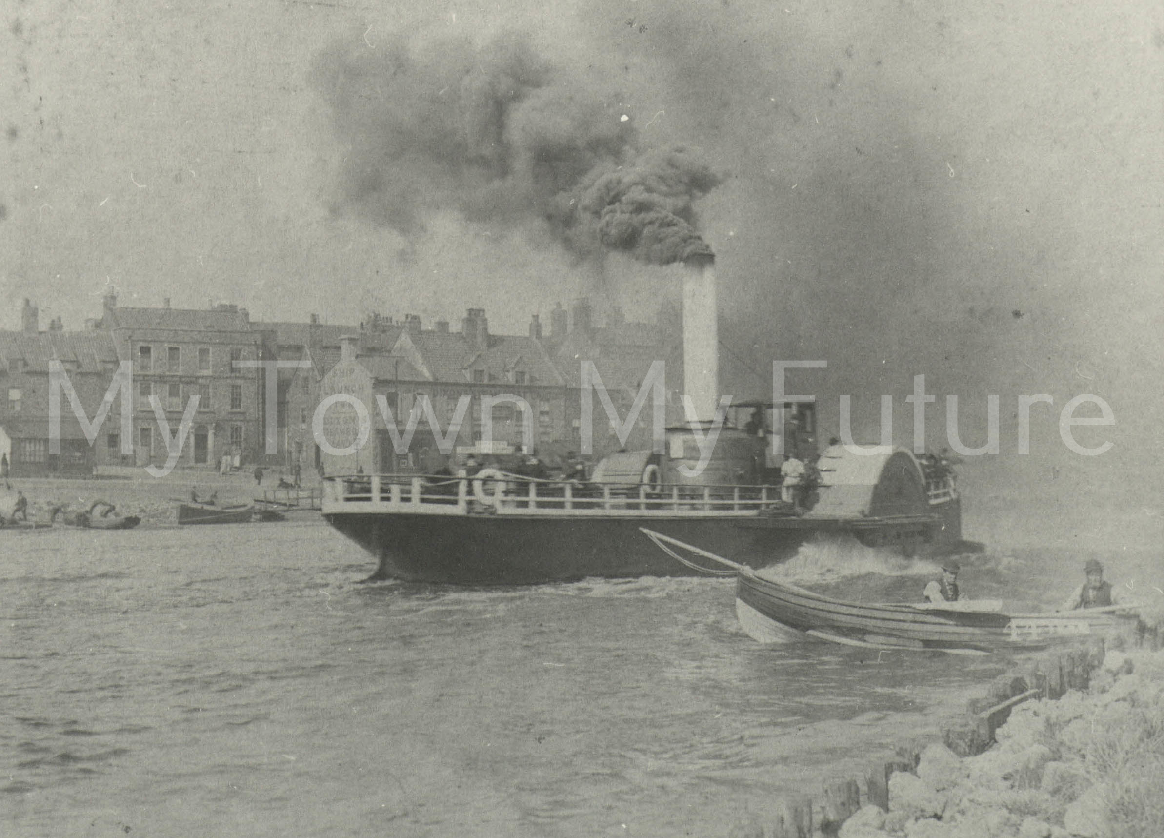 Paddle Steamer - PS River Queen - Department of Planning, Cleveland County Council