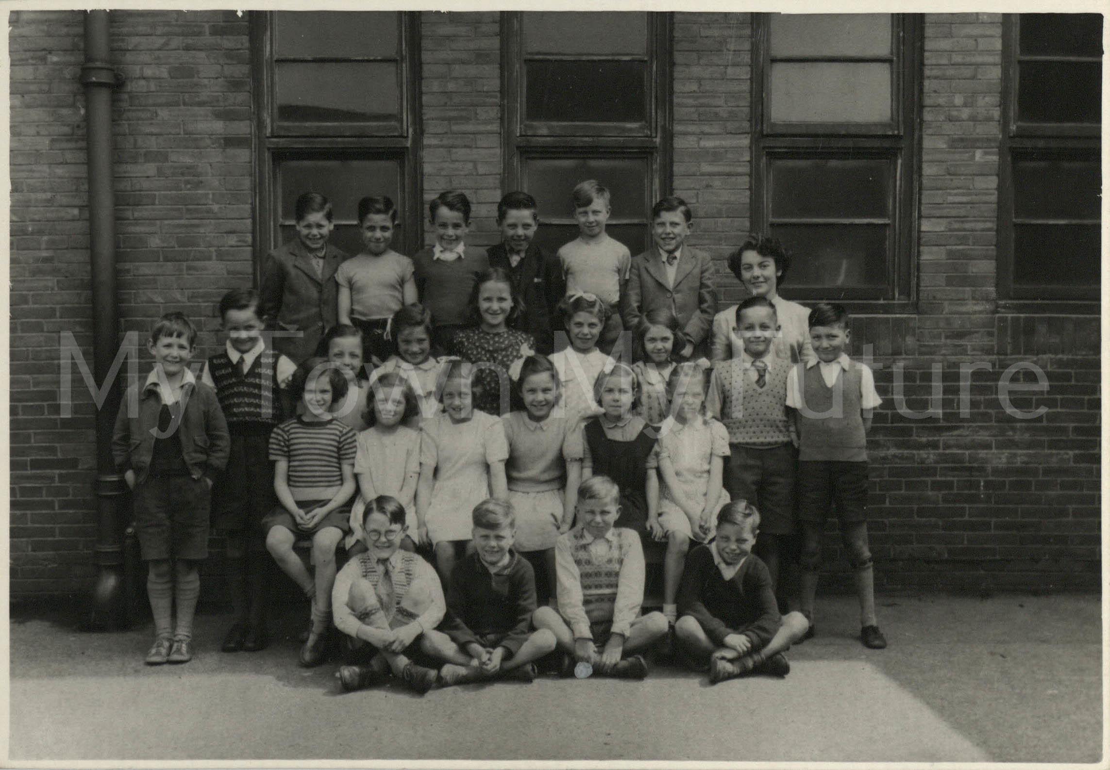 Fleetham Steet School (Miss Dent) 1950-1951
