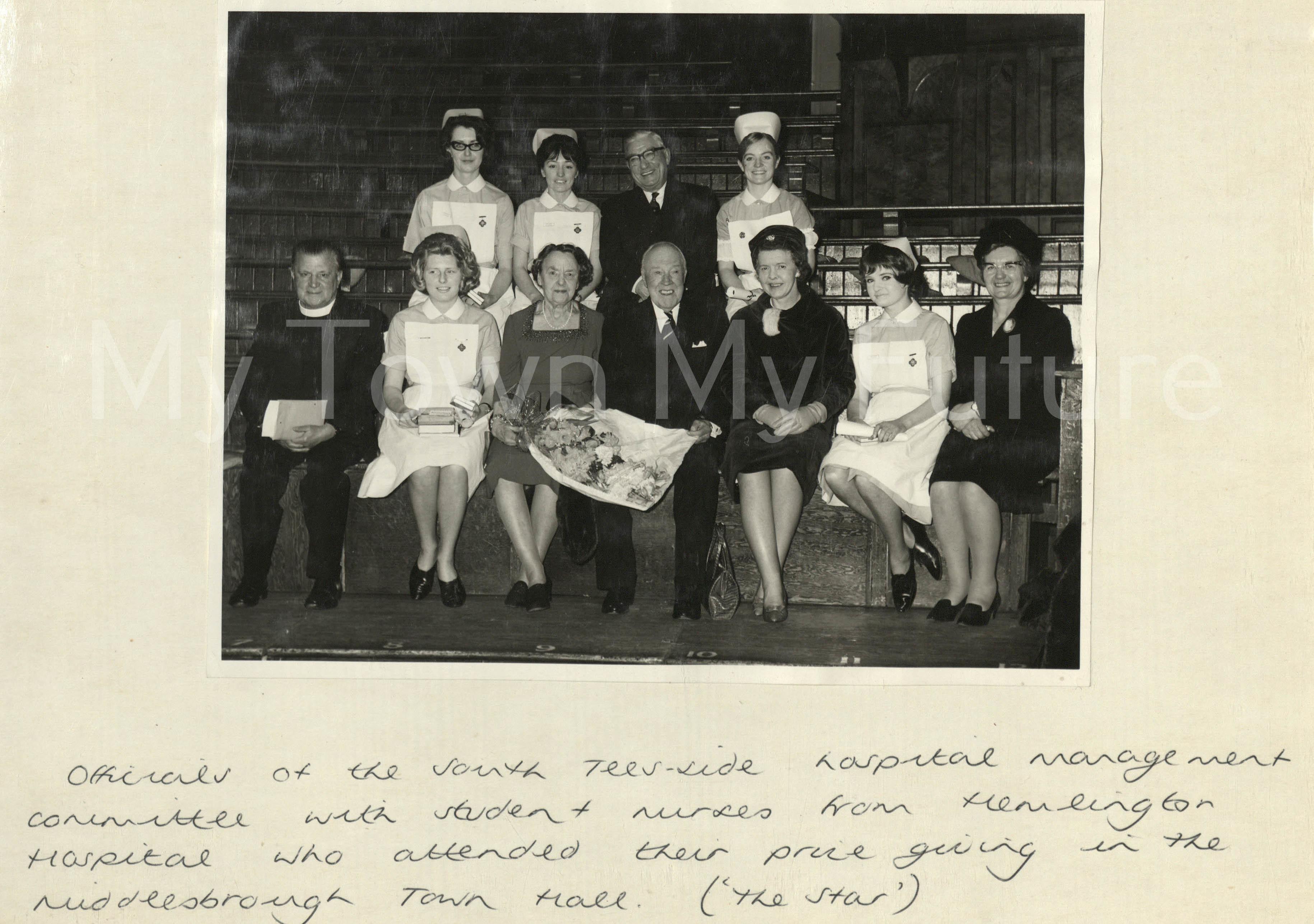 Hemlington Hospital Prize Giving, 1966 - The Star