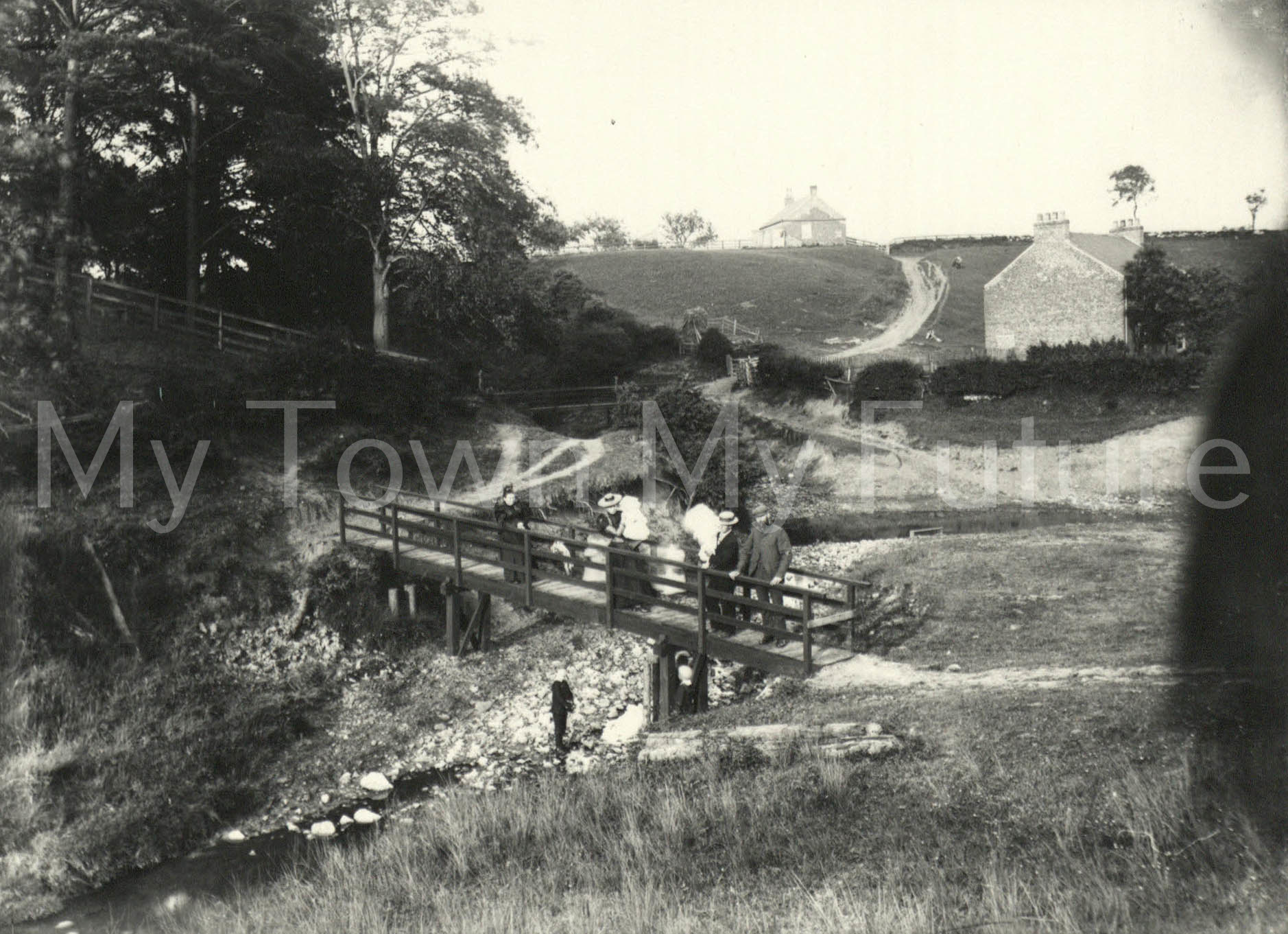 Hemlington Farm Footbridge