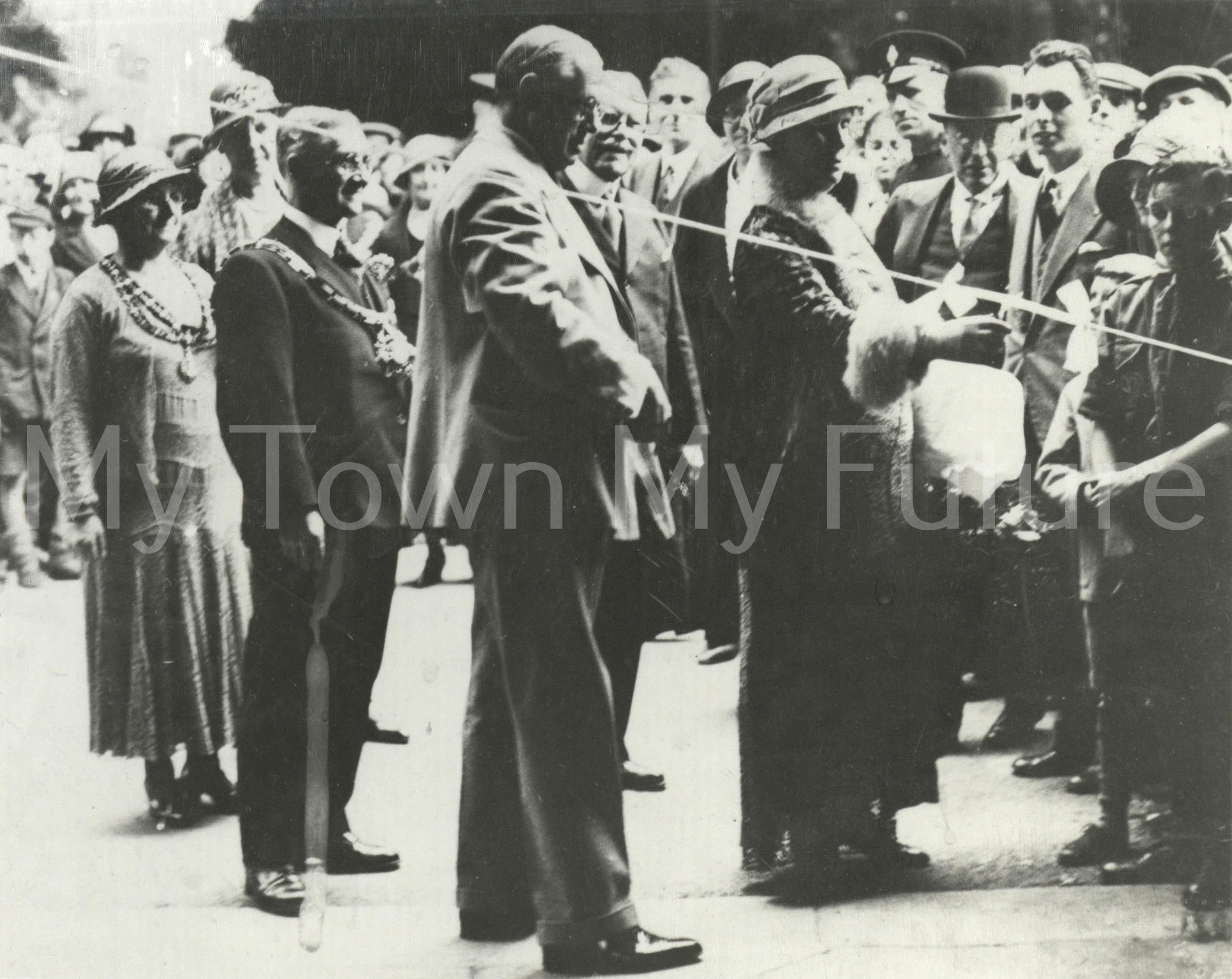 Poole Sanatorium Opening 22 June 1932