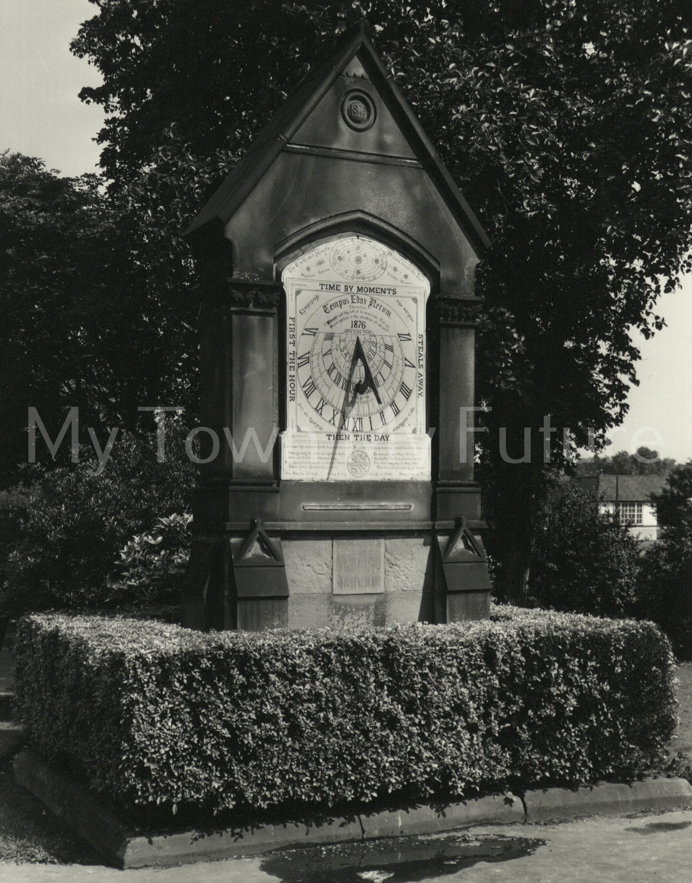 Albert Park - Sundial, Dept. of Planning - Cleveland County Council