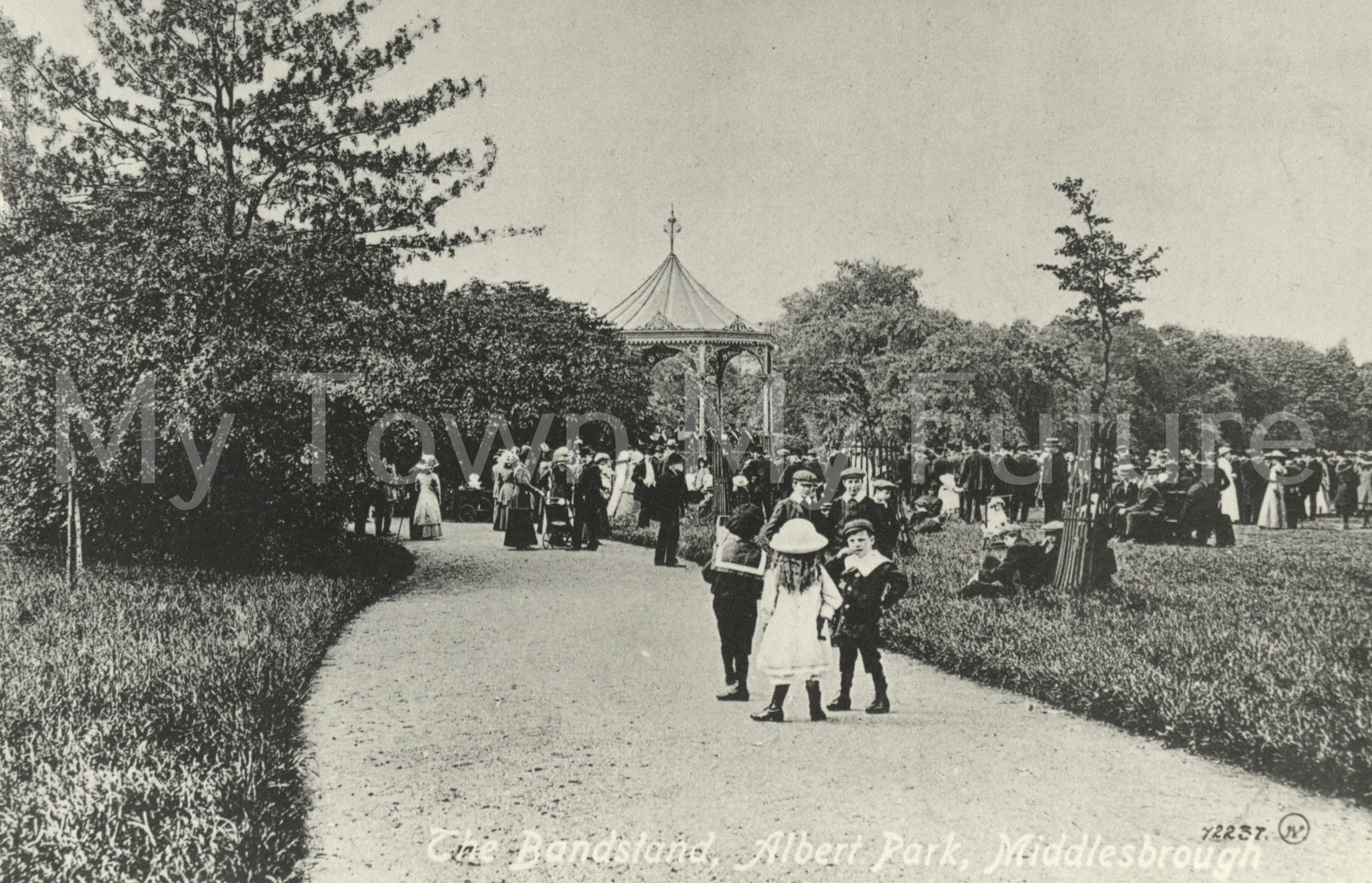 Albert Park - Bandstand, Dept. of Planning - Cleveland County Council