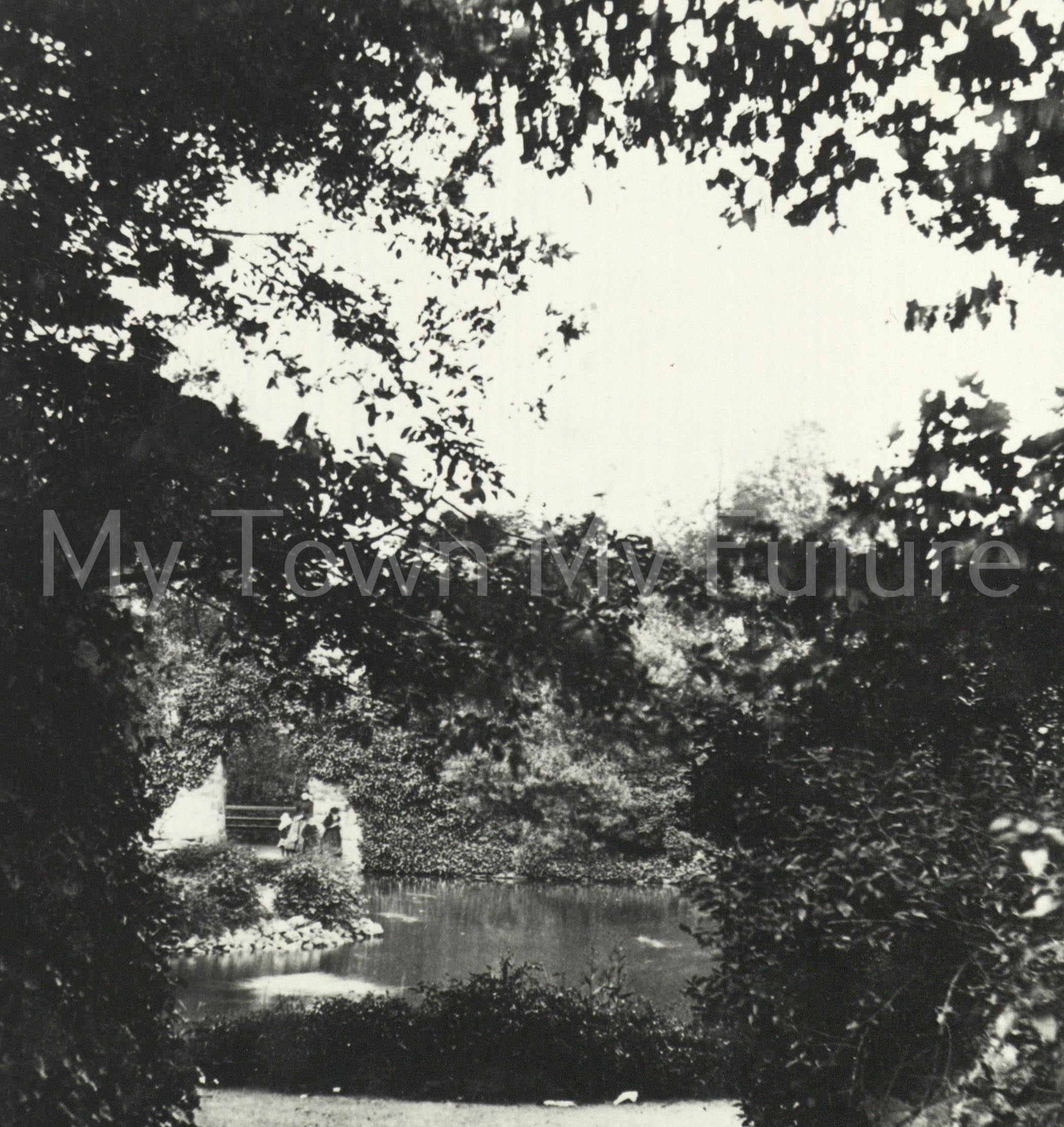 Albert Park, c1890s - JE Ellam - Yarm