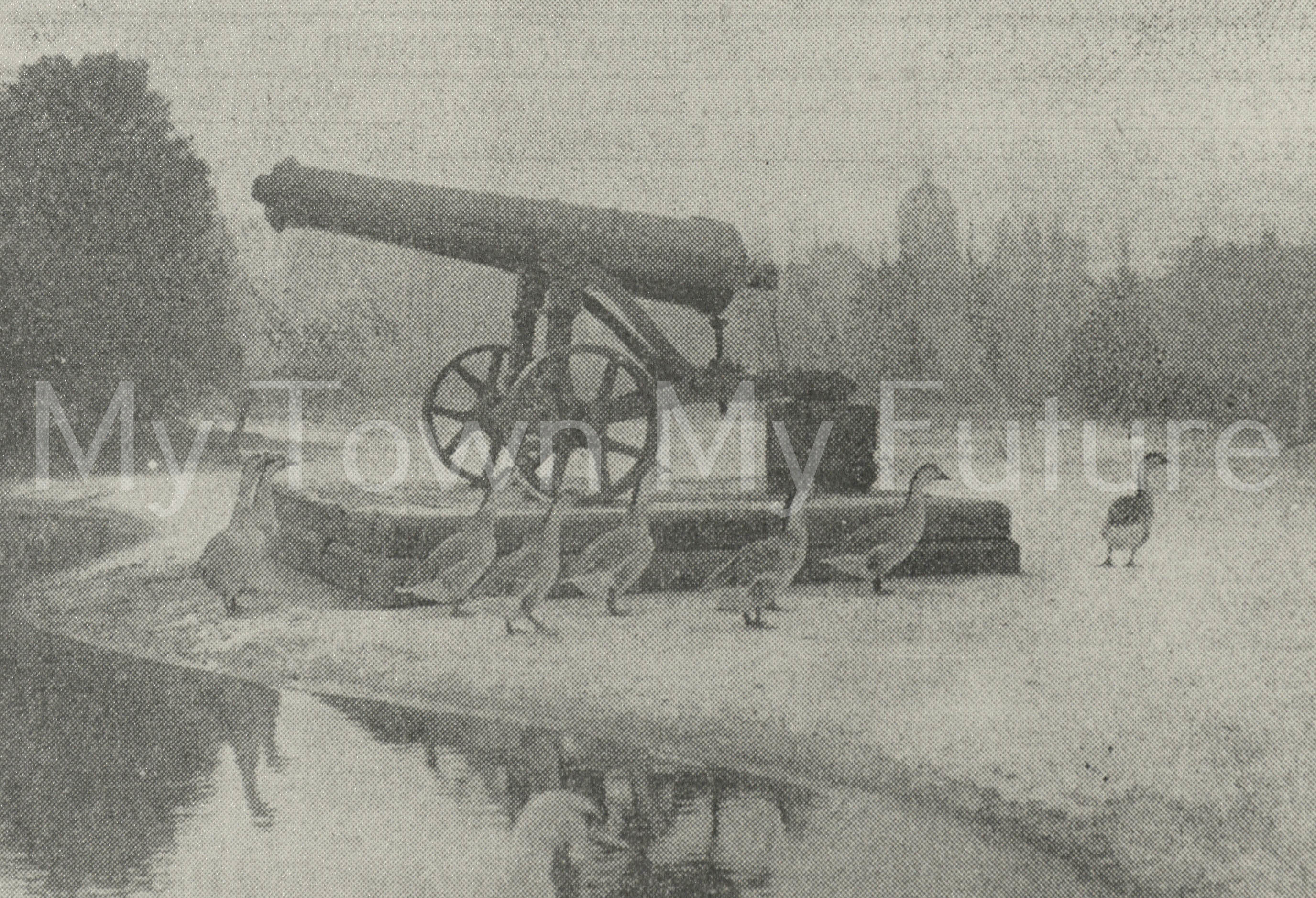 Albert Park - Cannon, 13th December 1926, Dept. of Planning - Cleveland County Council